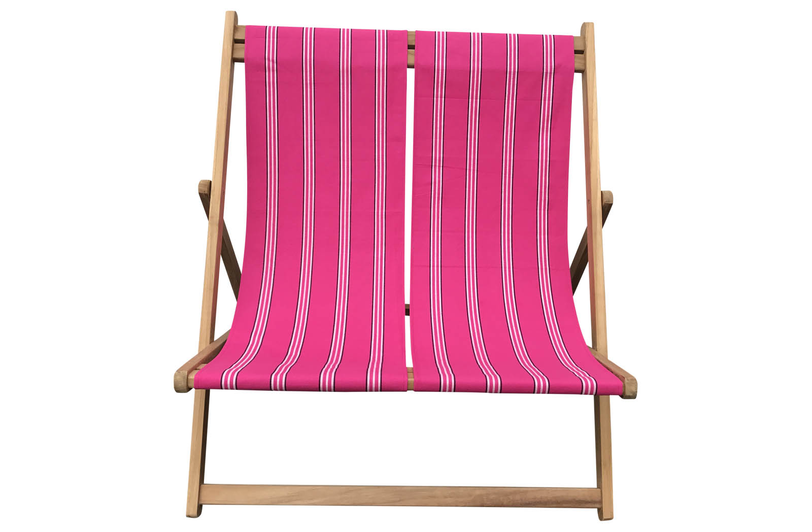 Pink Double Deckchair
