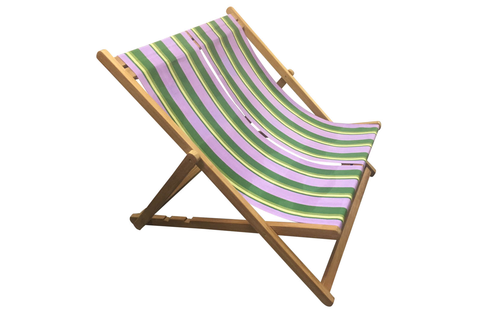 lilac, lime, dark green - Double Deckchairs