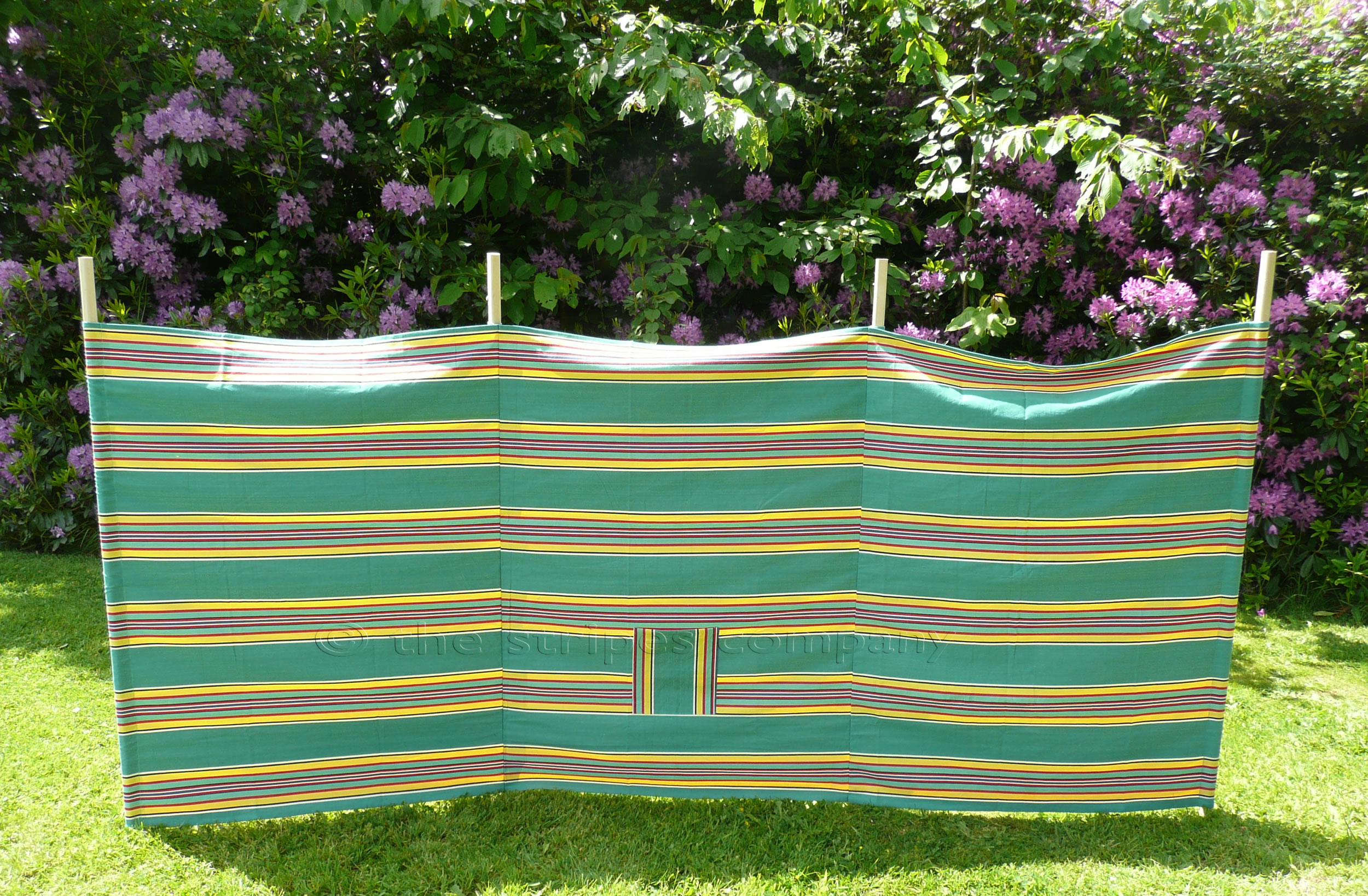 Golf Retro Green Stripe Windbreak from The Stripes Company