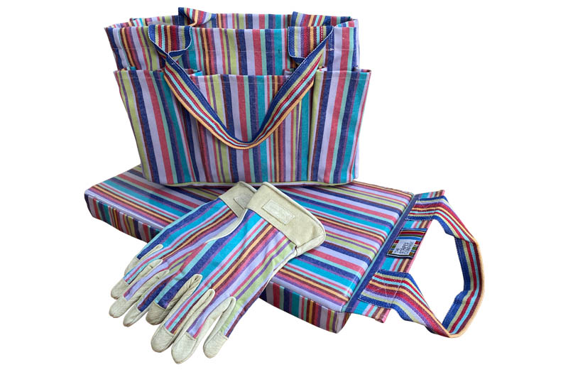 Gardeners Accessories Set - Striped