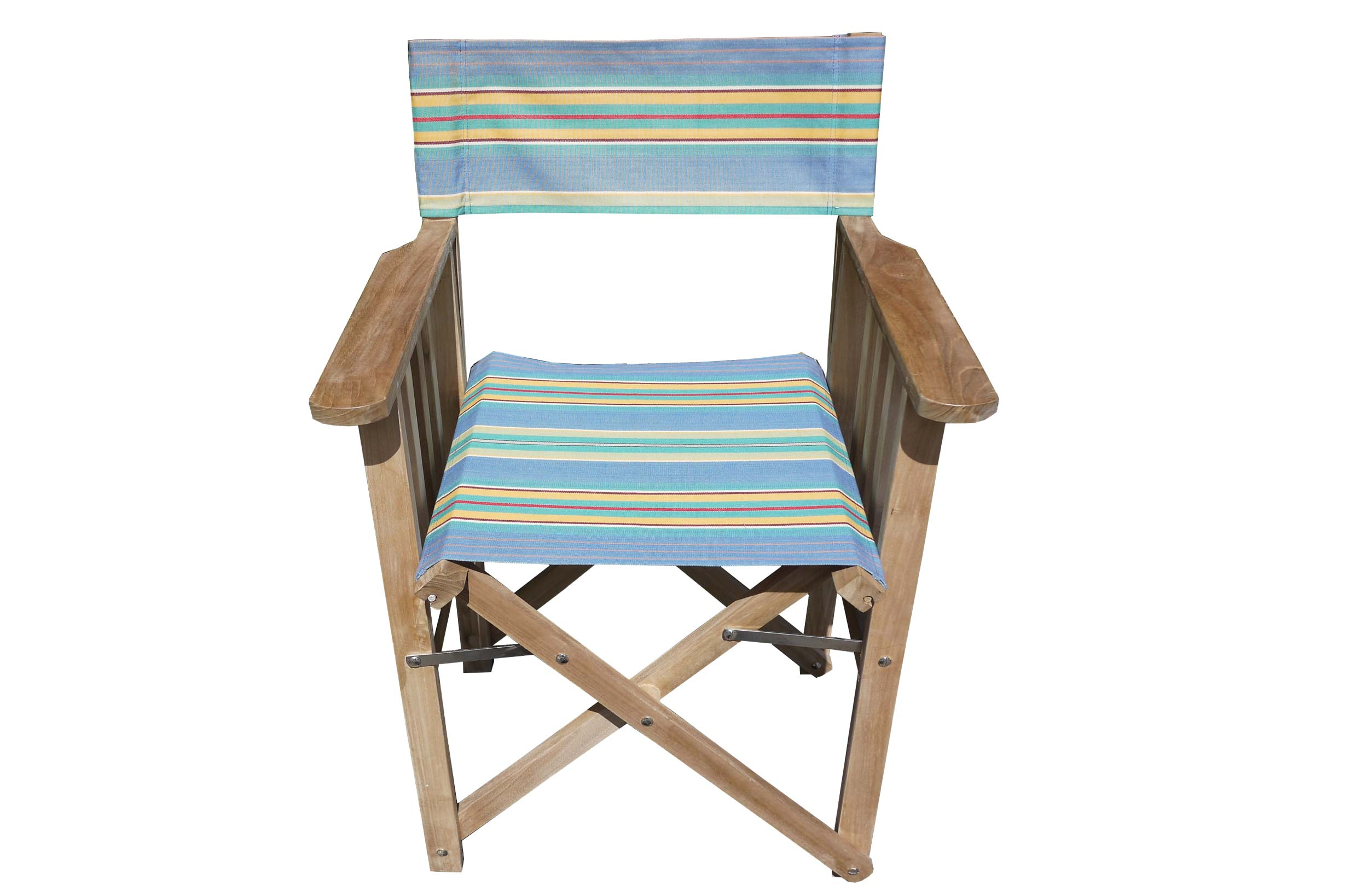 Sky Blue Directors Chair