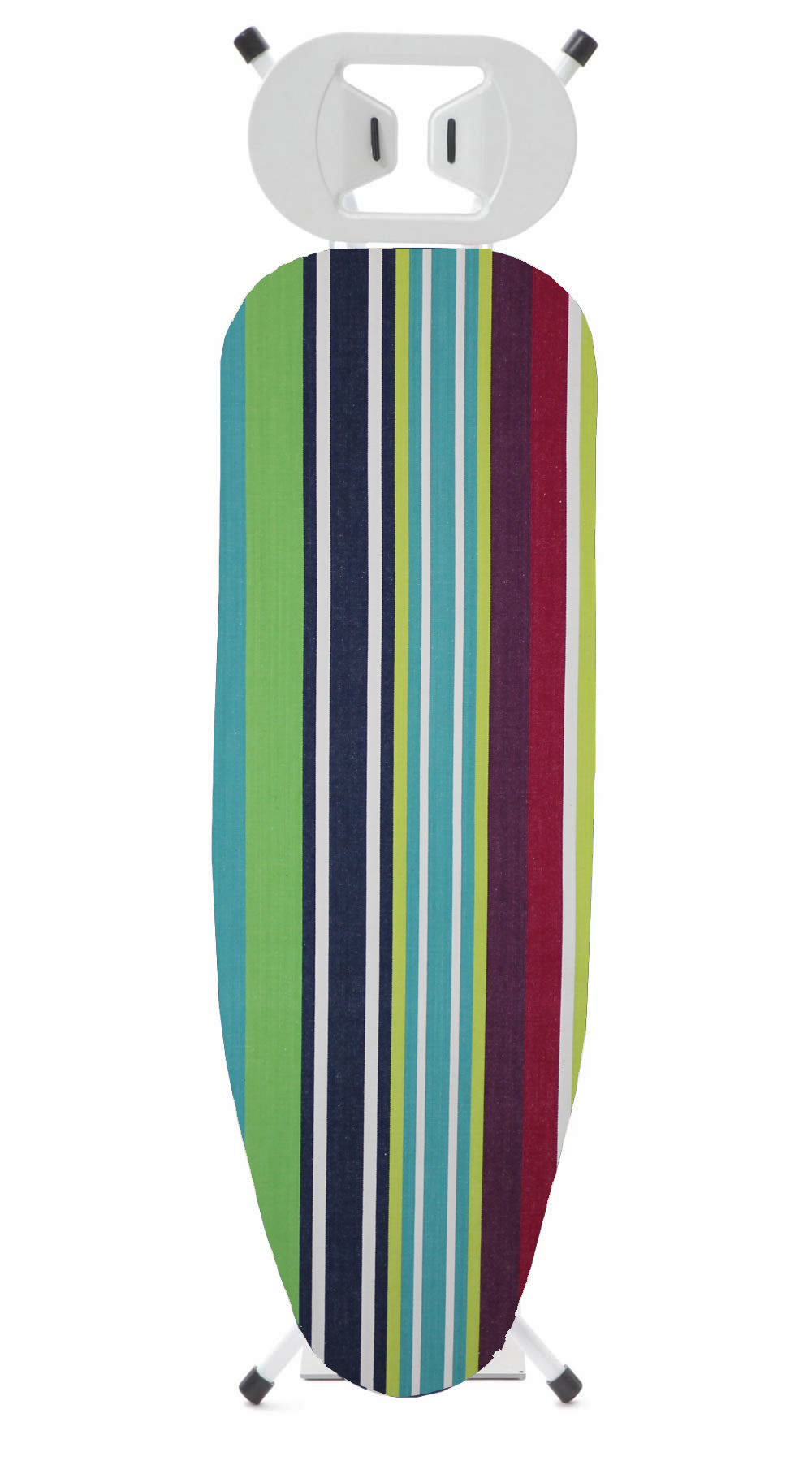 Navy Striped Ironing Board Covers - Tug O War Stripes