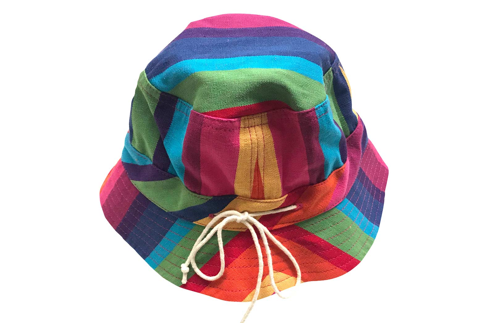 b32790d9639 Multicolour Kids Striped Sun Hats
