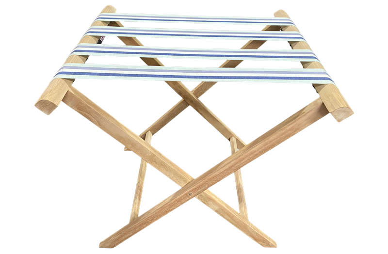 Folding Teak Tray Stand - Butlers Tray Stand