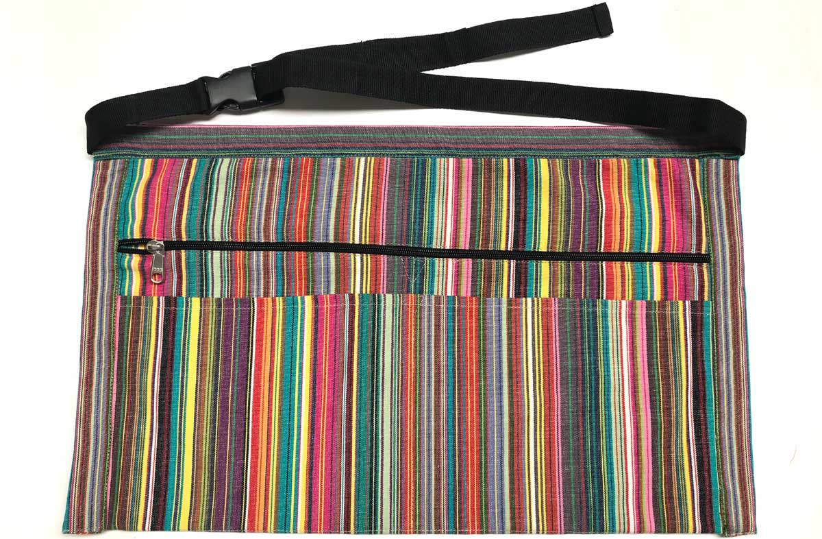 Multi Striped Money Belts