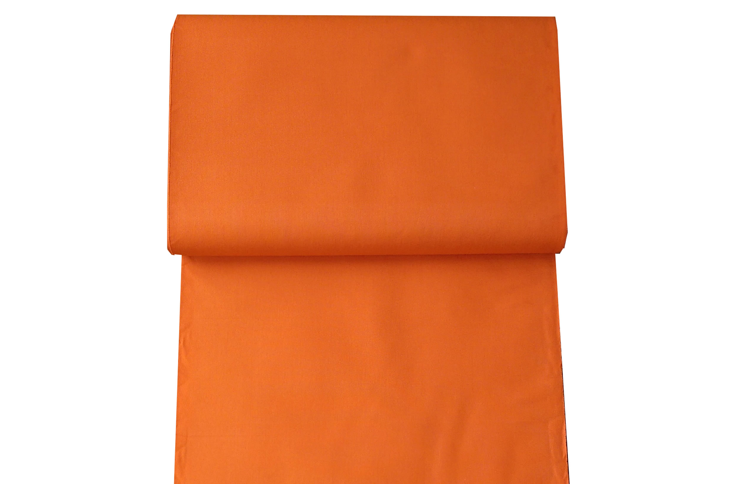 orange- Plain Deckchair Canvas