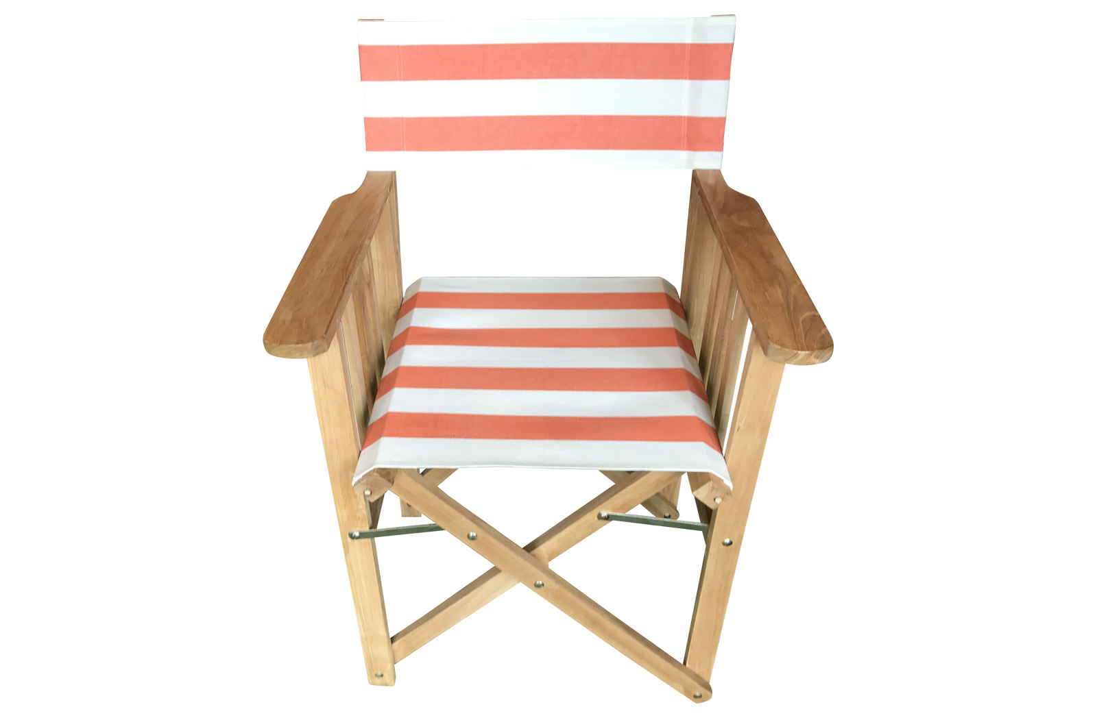 Directors Chairs orange white