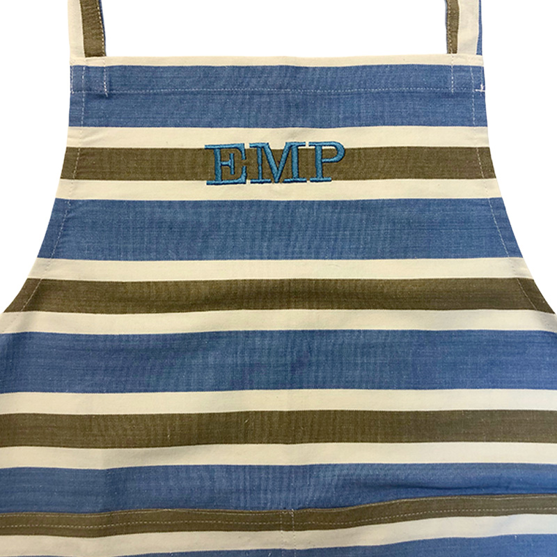 personalised striped aprons