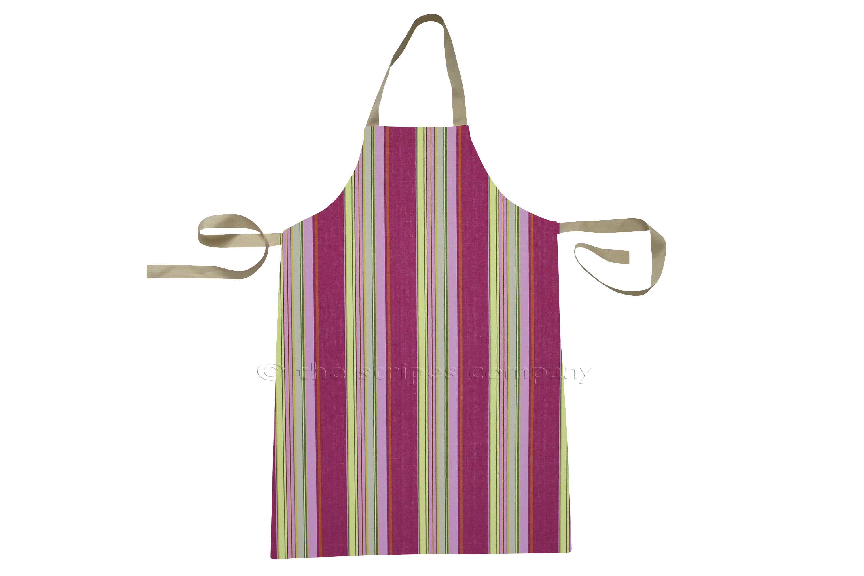Pink Striped Kids Aprons | Aprons for Children