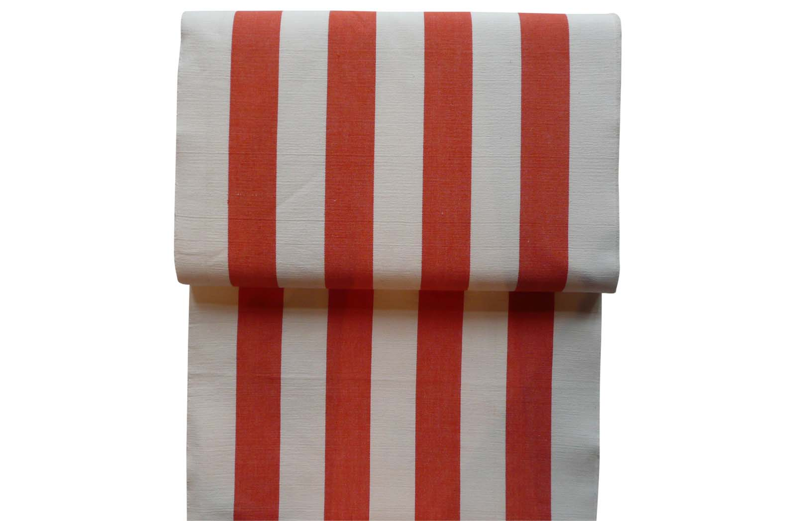 Orange and White Stripe Replacement Deck Chair Covers