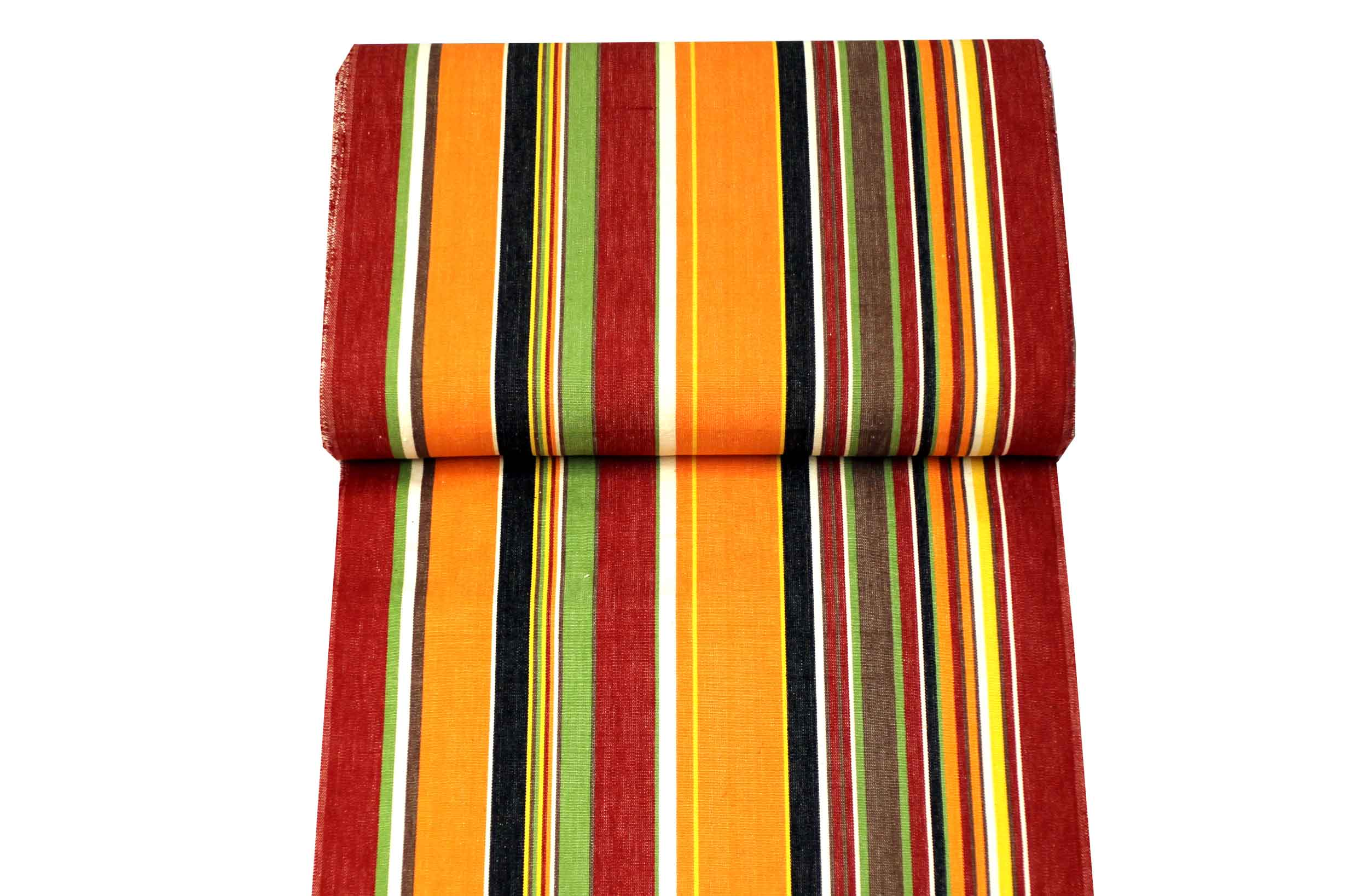 Retro Orange Stripe Replacement Directors Chair Covers
