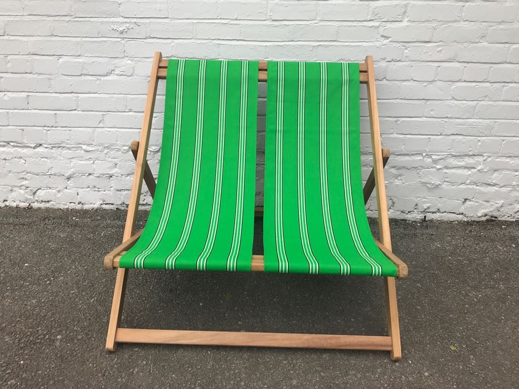 emerald green- Double Deckchairs
