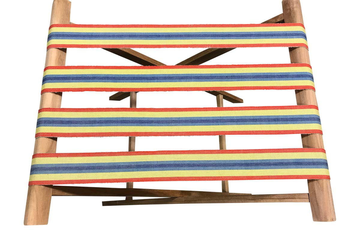 red, blue, yellow - Folding Luggage Racks