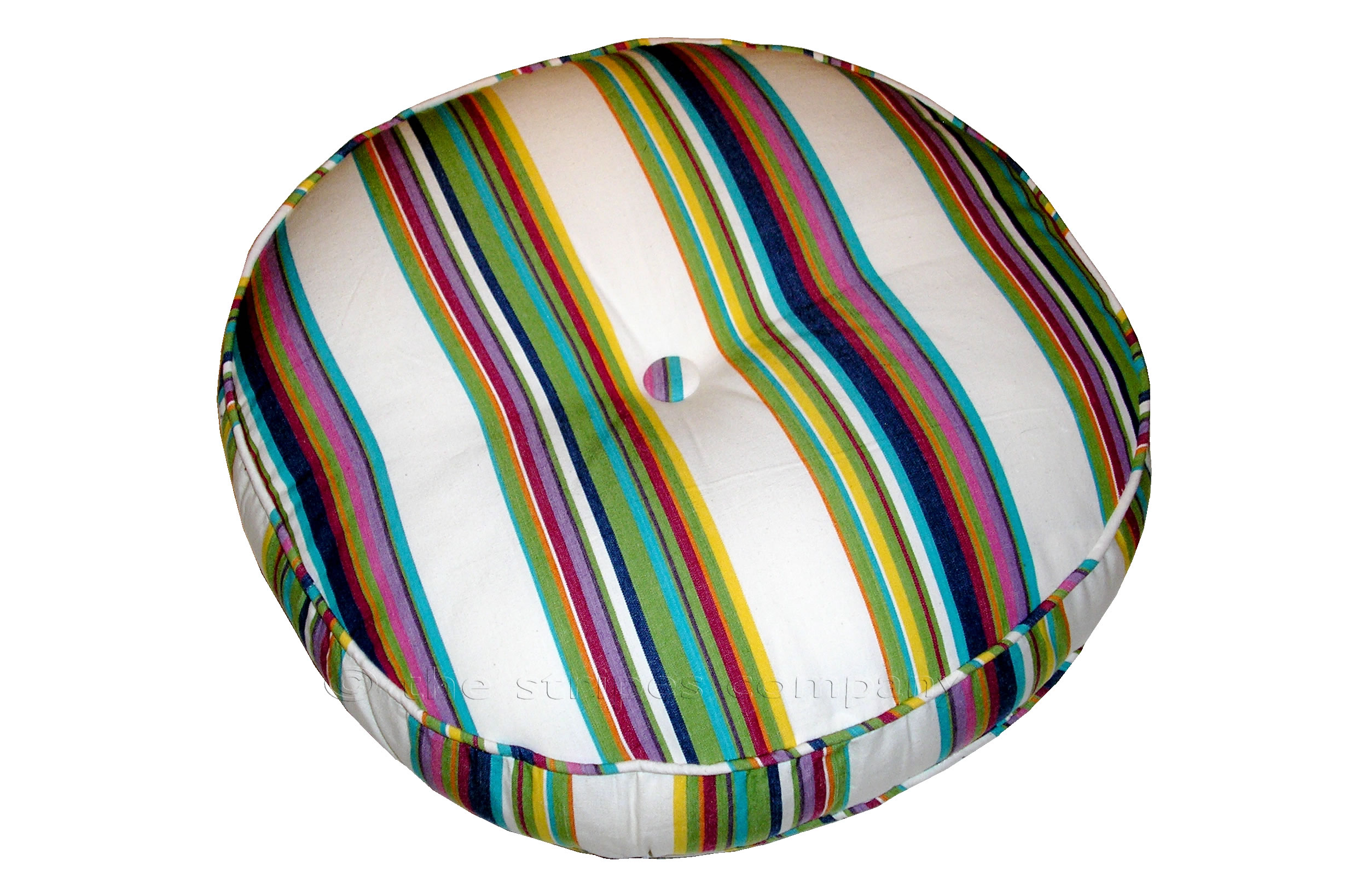 Ballooning Piped Cushion Round