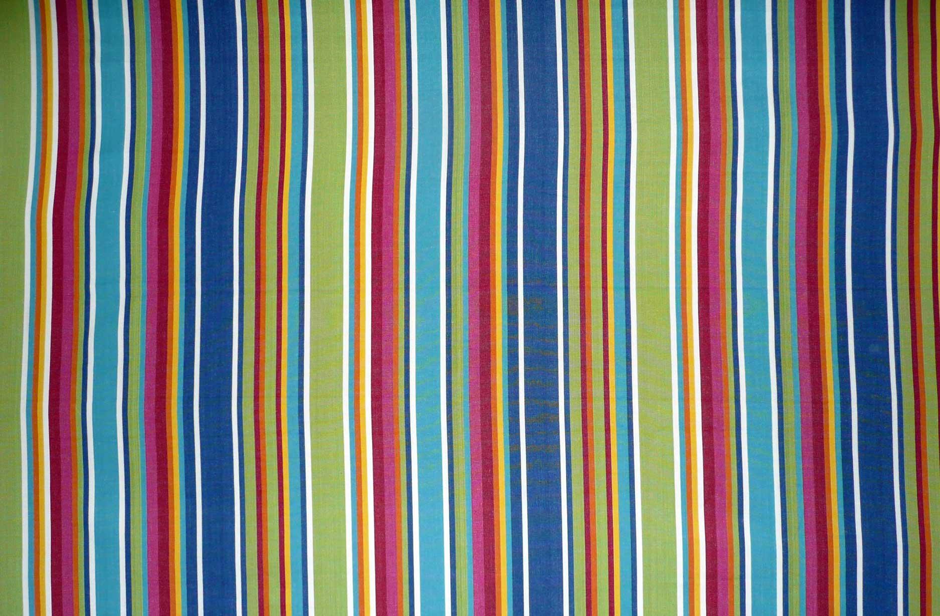 Rainbow Striped Fabrics | Striped Curtain Fabric - Climbing Stripes ...
