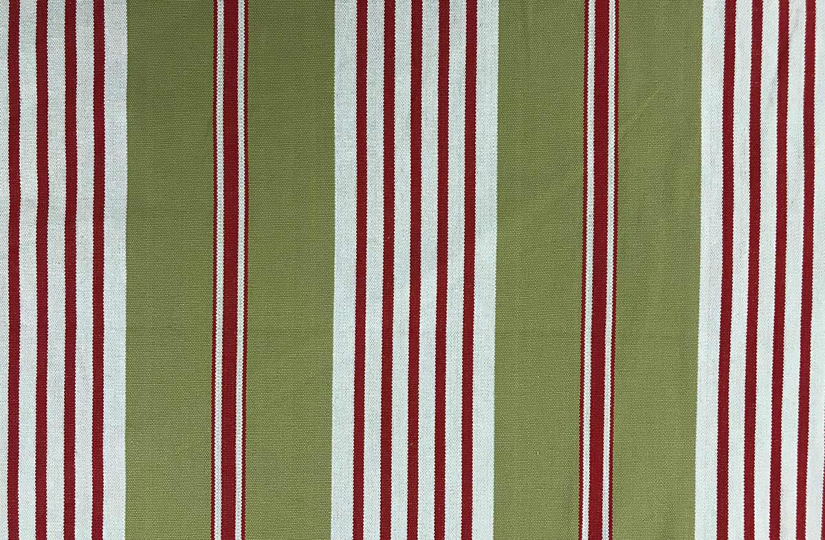 olive striped fabric