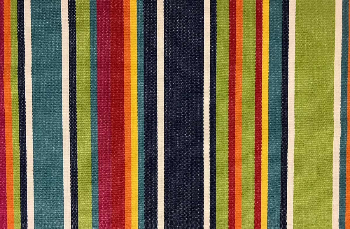 blue, green, red - Striped Fabrics | Stripe Cotton Fabrics | Striped Curtain Fabrics | Upholstery Fabrics