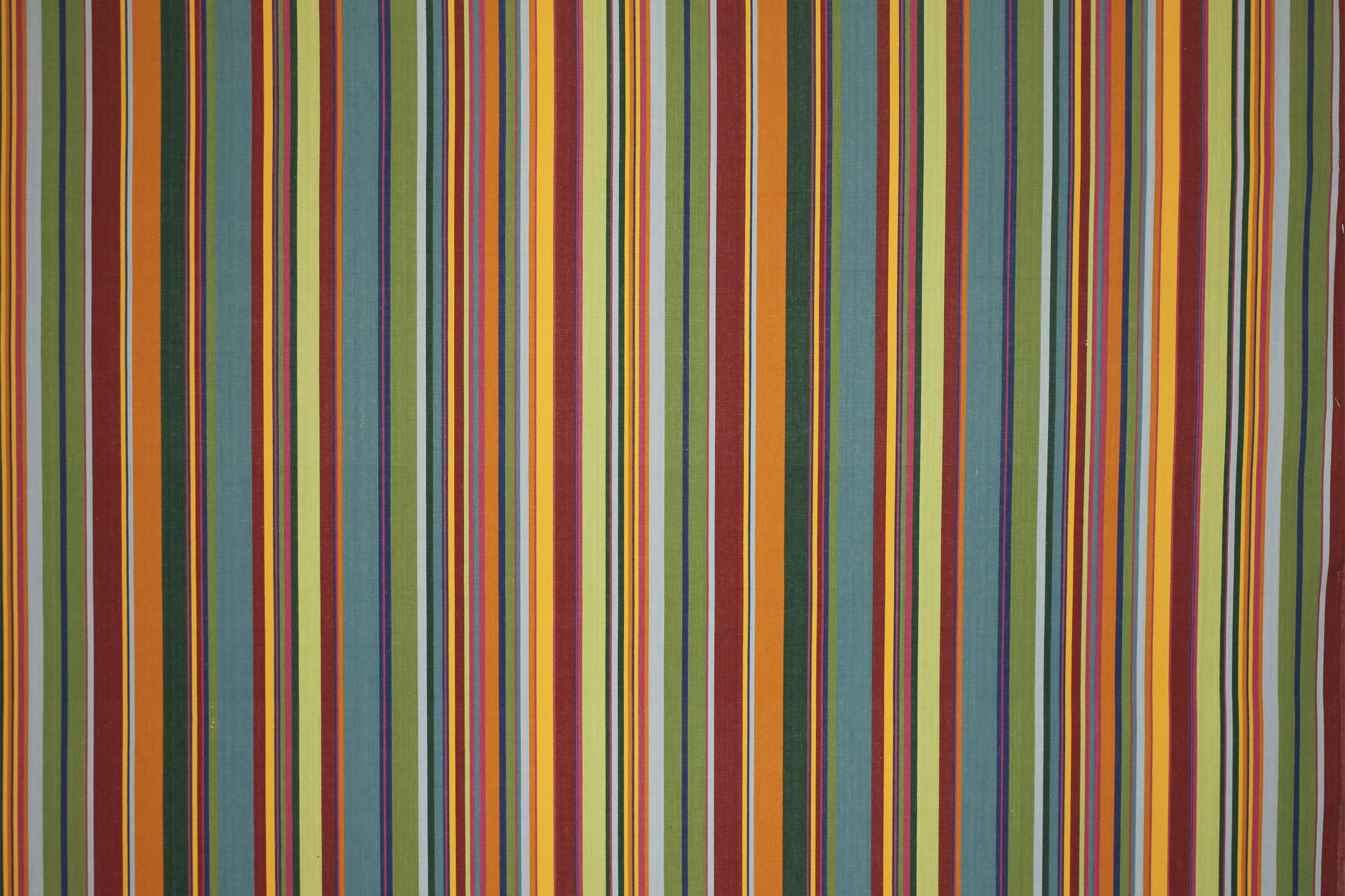 Bottle Green Striped Fabrics | Stripe Cotton Fabrics | Striped Curtain Fabrics | Upholstery Fabrics  Bowling Stripes