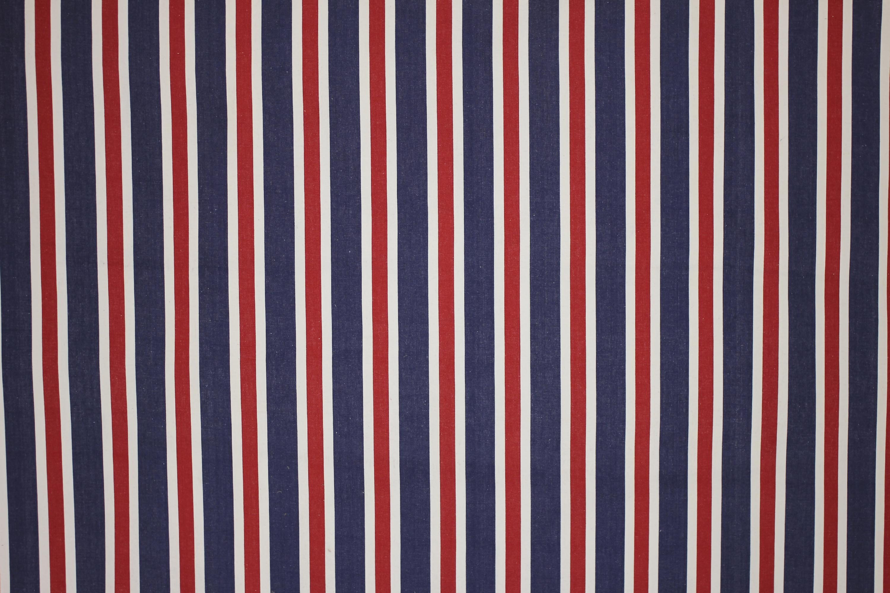 Blue Red And White Striped Fabric The Stripes Company UK