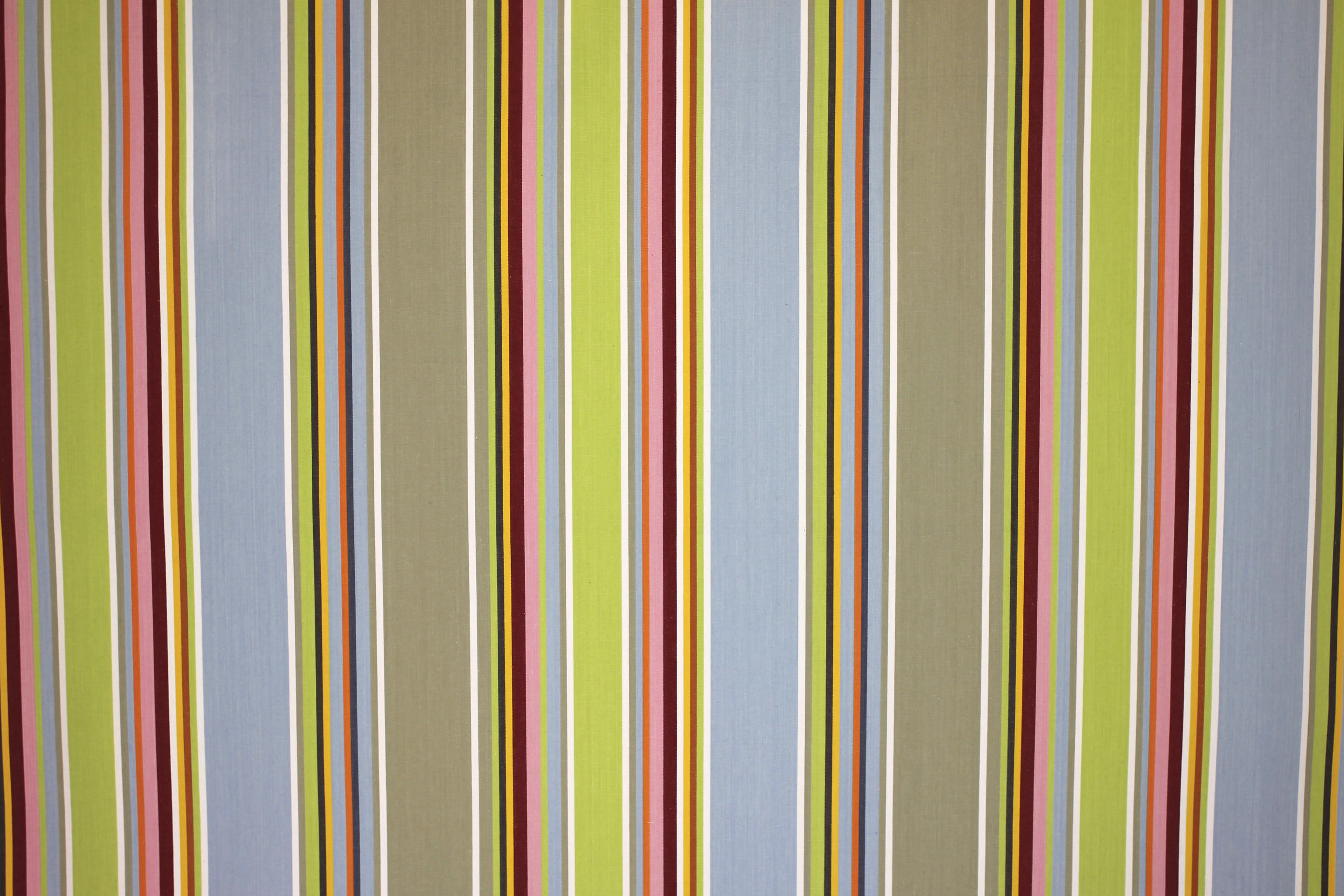 blue and beige stripe fabric