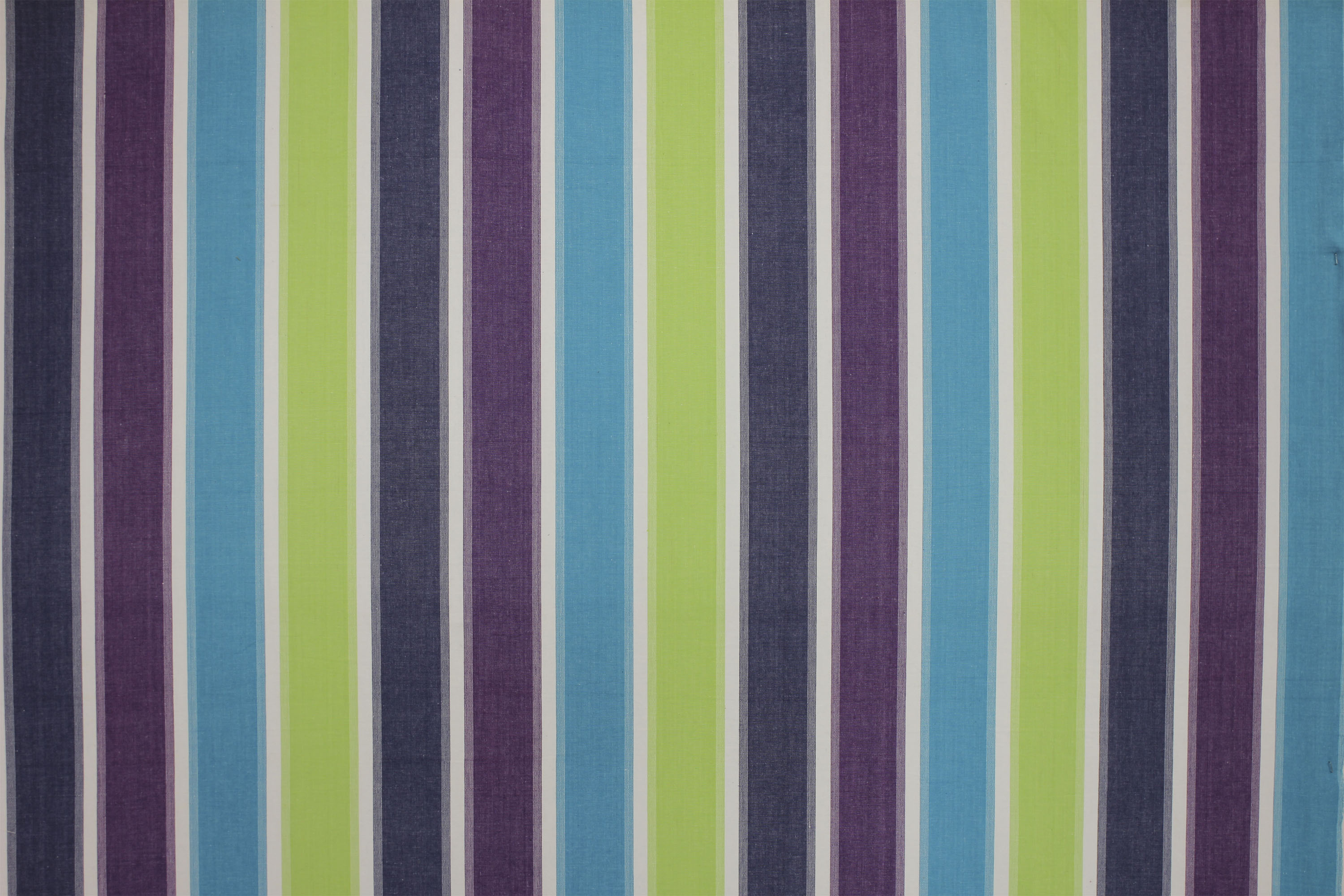 Lime Green Striped Fabrics
