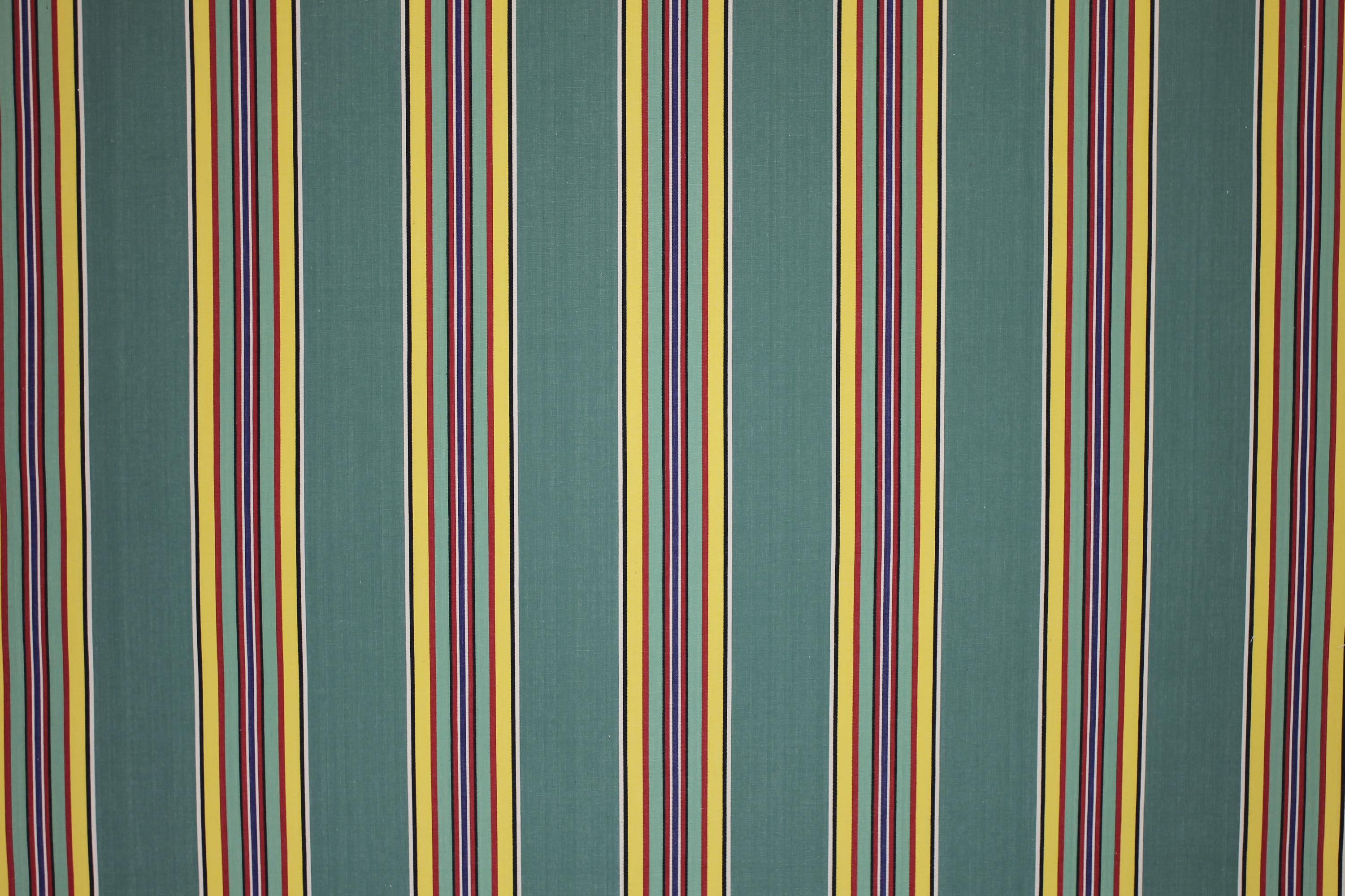 Green Striped Fabrics | Stripe Cotton Fabrics | Striped Curtain Fabrics | Upholstery Fabrics  Golf Stripes