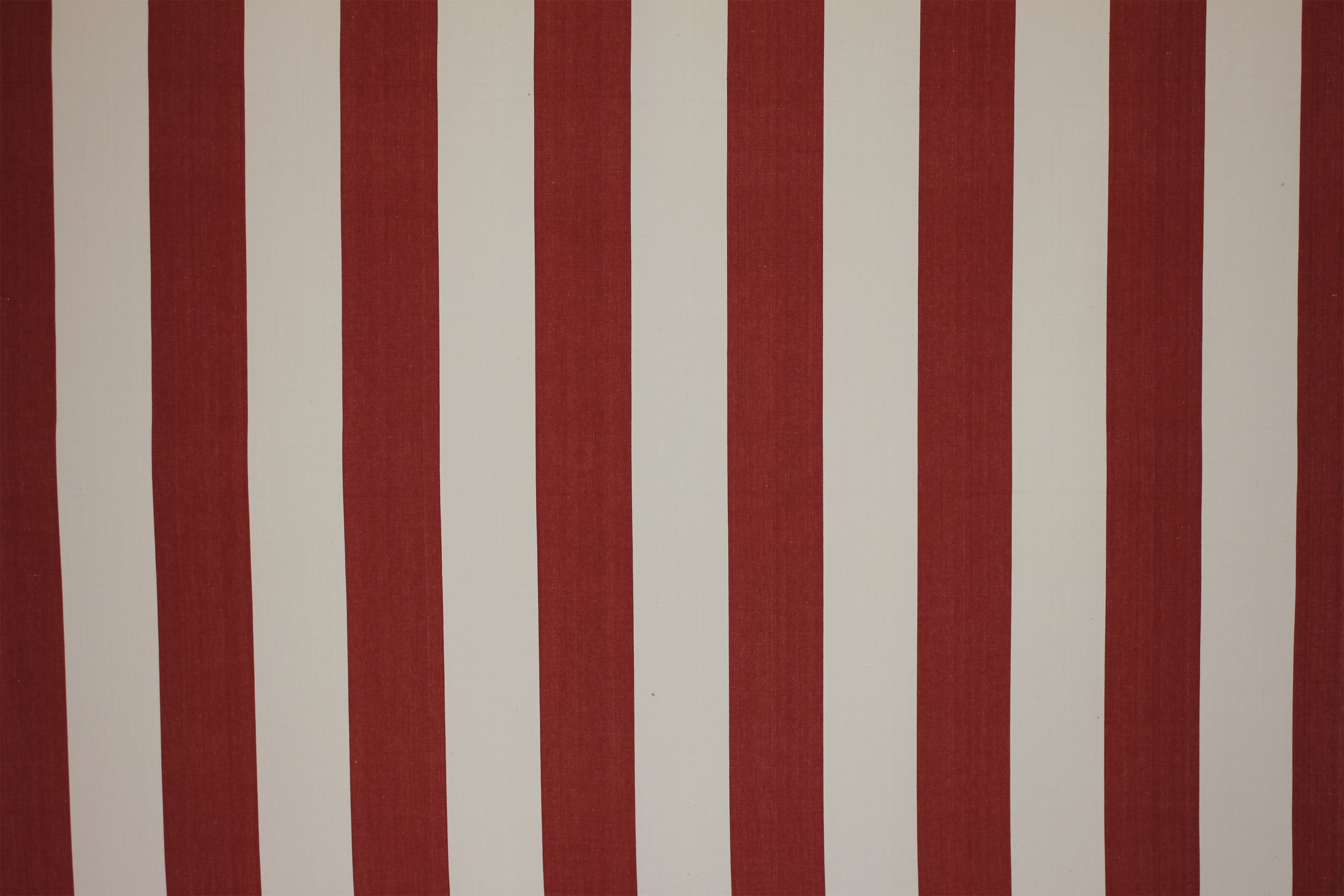 Red Striped Fabric - Punch and Judy Stripe | The Stripes