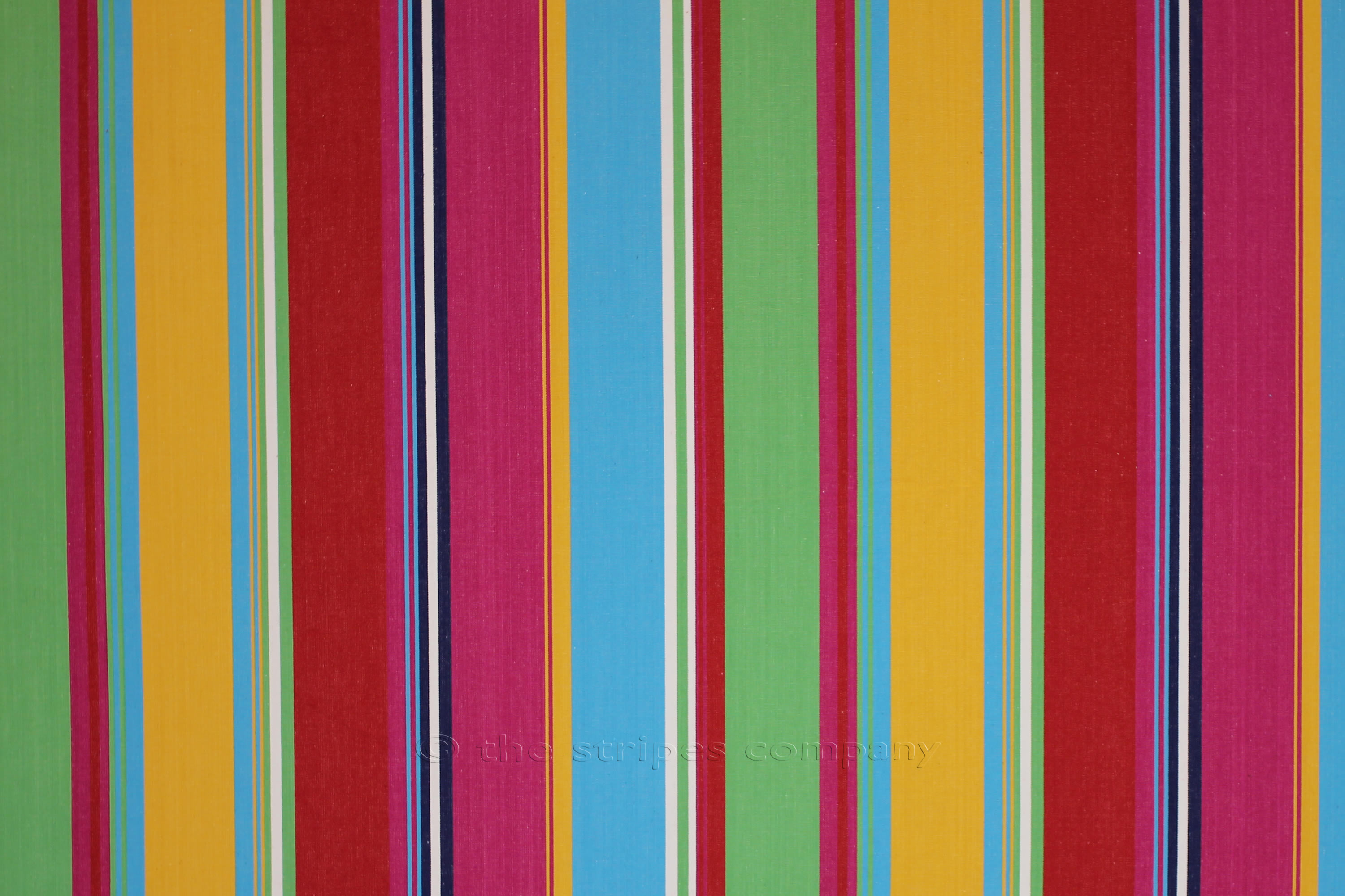 pink, green, yellow - Striped Fabrics | Stripe Cotton Fabrics | Striped Curtain Fabrics | Upholstery Fabrics