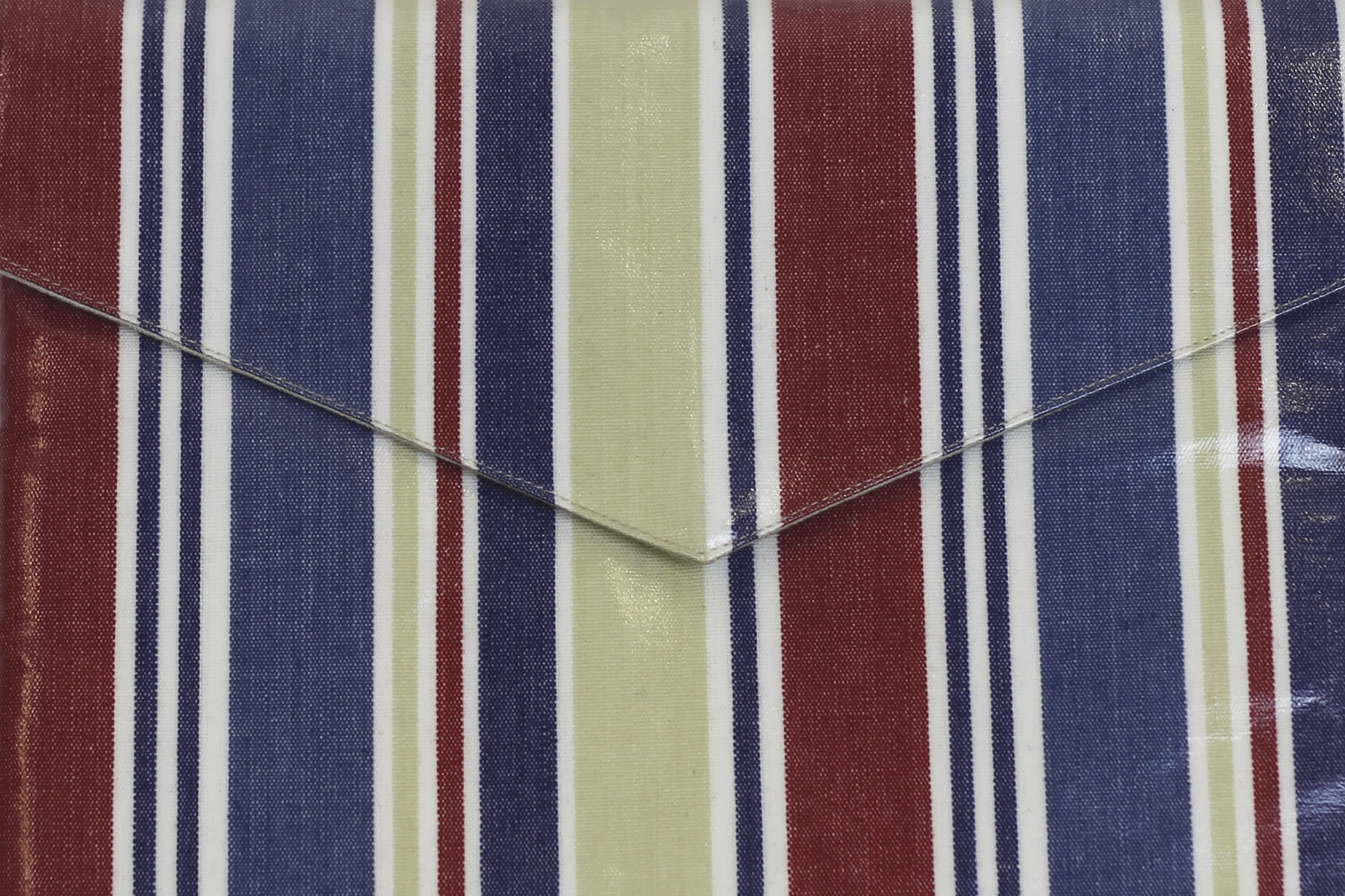 Striped Fabrics Blue, Red and Beige Stripes | Striped Curtain Fabrics | Upholstery Fabrics