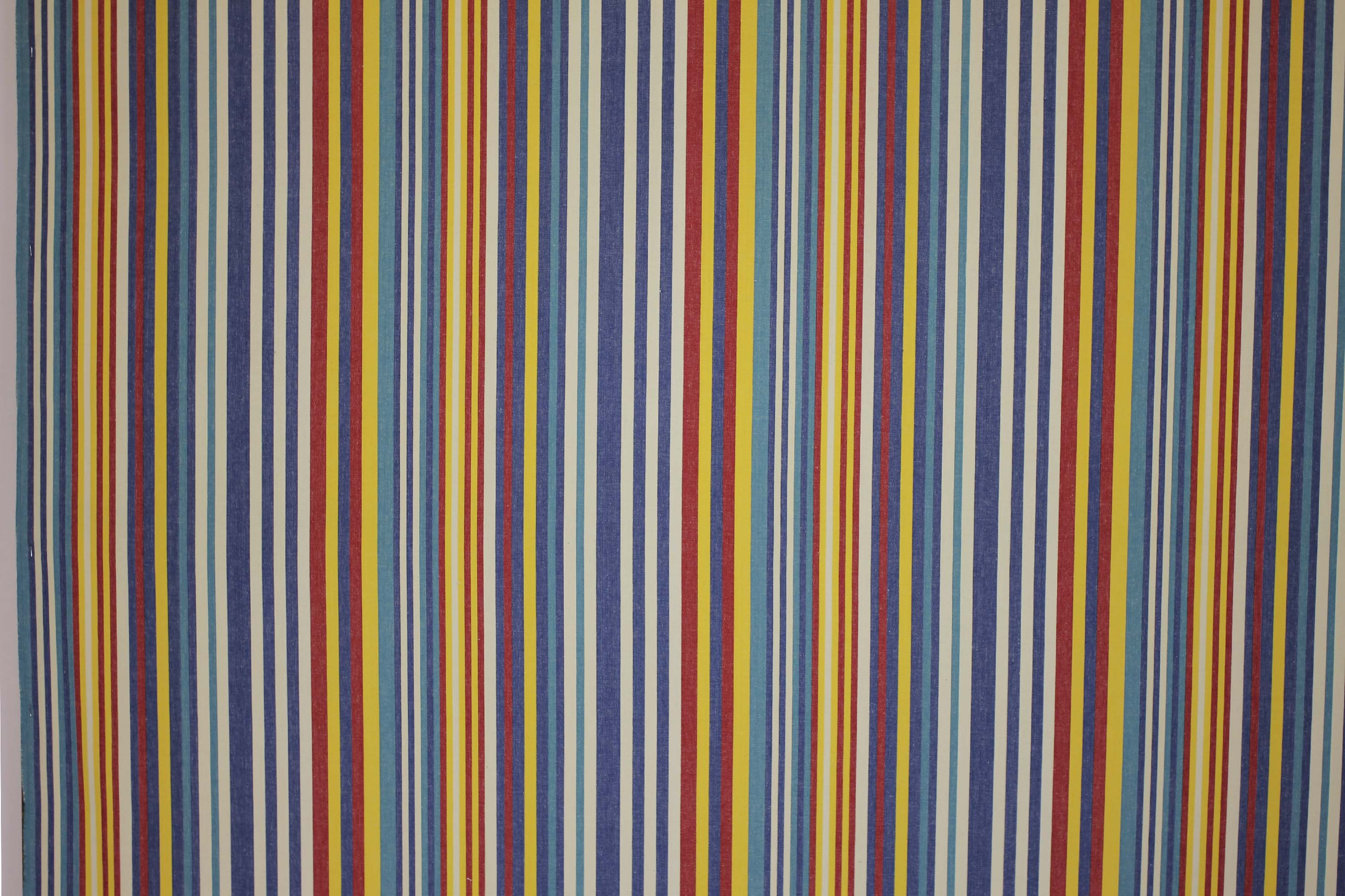 Denim Blue Striped Fabrics