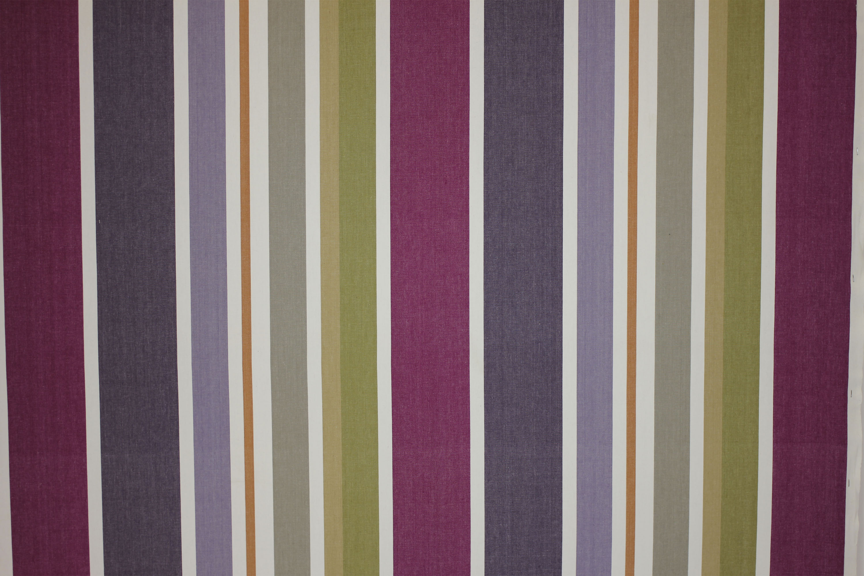 Wipe Clean Fabrics | Water Repellent Fabrics | Striped Coated Fabrics purple, lilac, mauve