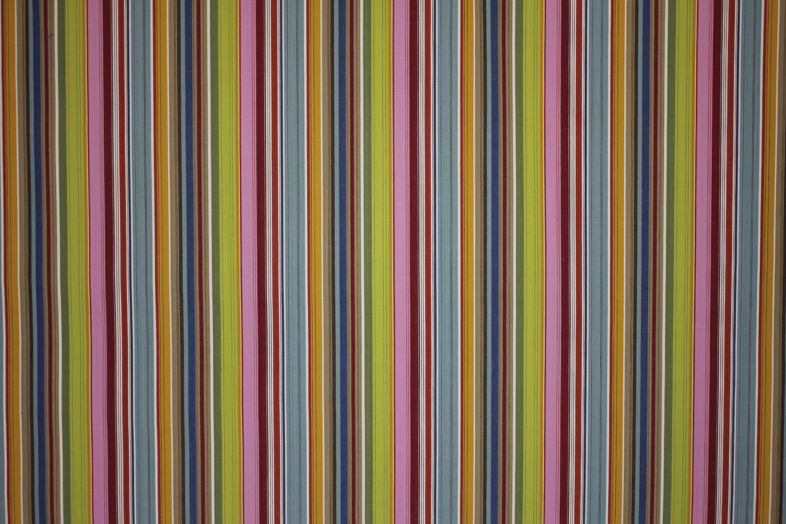 Pink Striped Fabrics | Stripe Cotton Fabrics | Striped Curtain Fabrics | Upholstery Fabrics  Parachuting Stripes