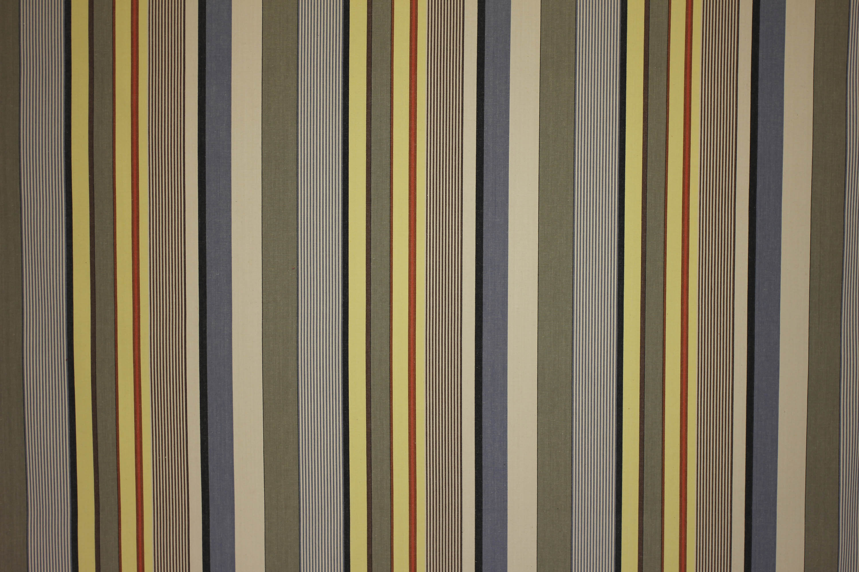 Pilota Beige Striped Fabric | The Stripes Company UK
