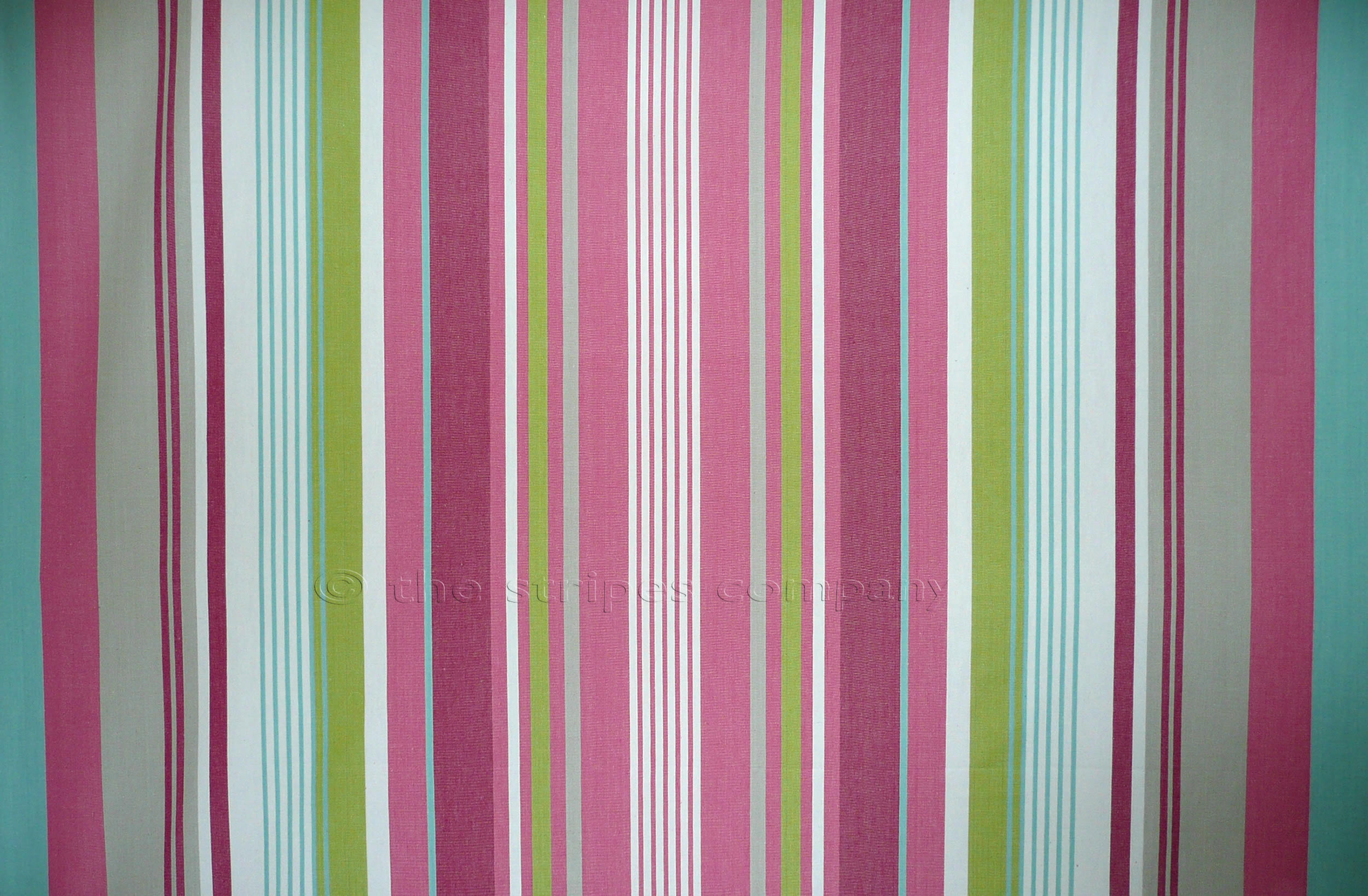Pink Striped Fabrics  Baby Pink Grey White Baby Blue Stripes
