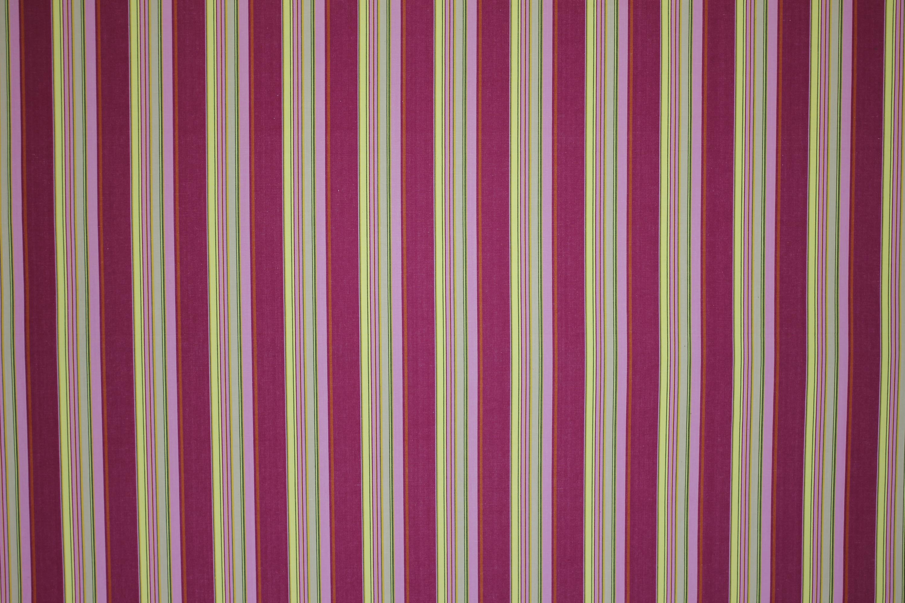 Pink Striped Fabrics | Pink Stripe Cotton Curtain and Upholstery Fabrics -  Rugby Stripes