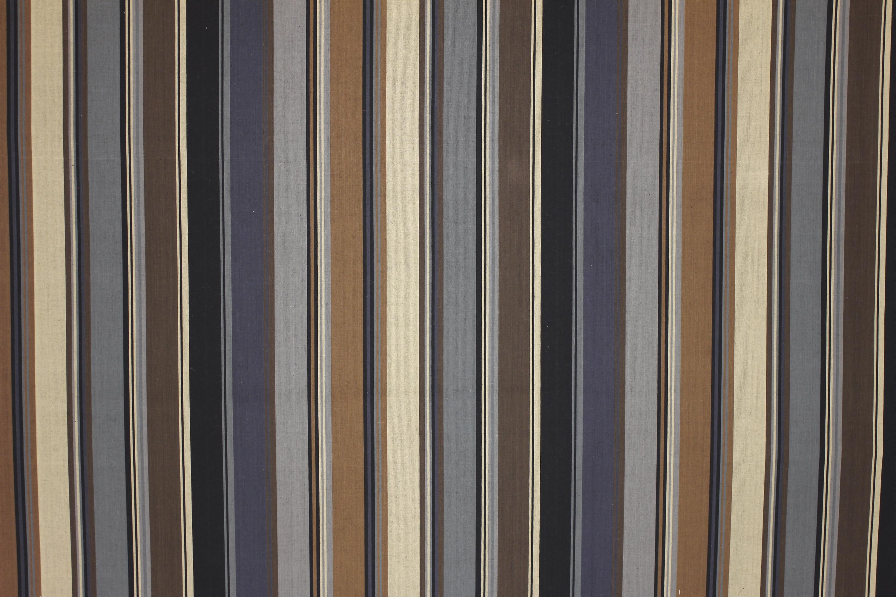 Striped Upholstery Fabric Grey