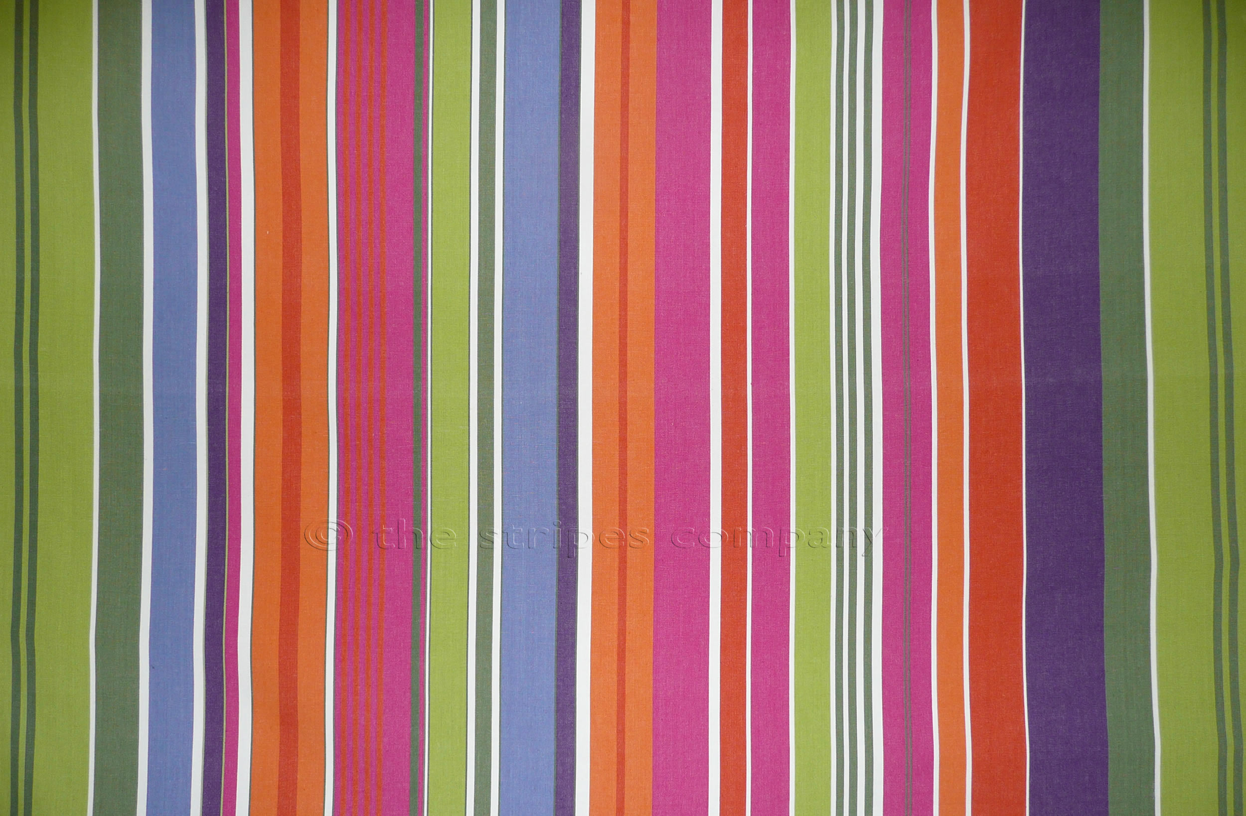 Pink Striped Fabrics | Stripe Cotton Fabrics | Striped Curtain Fabrics | Upholstery Fabrics - Weightlifting Stripes