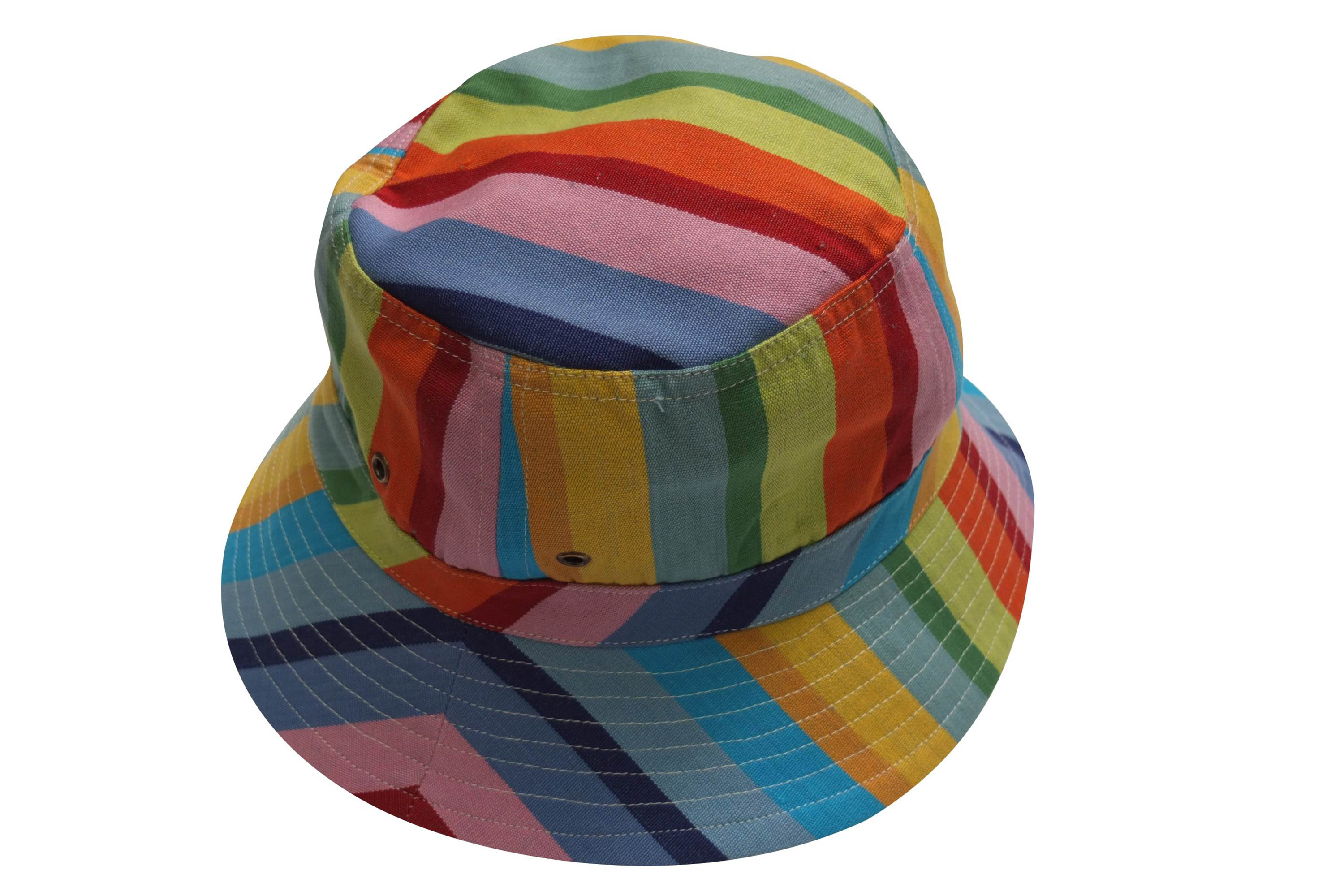 Rainbow Striped Sun Hats | Sun Protection Hat | Tango Stripe