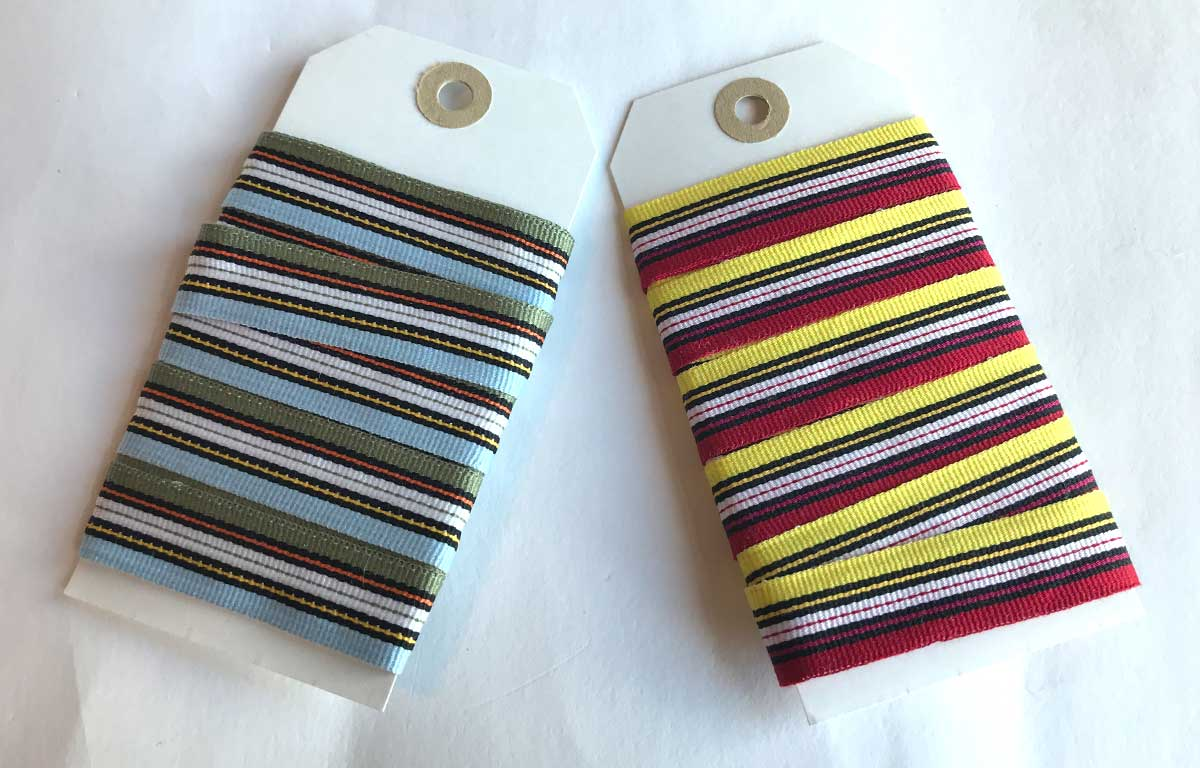 - Striped Ribbons | Upholstery Ribbons