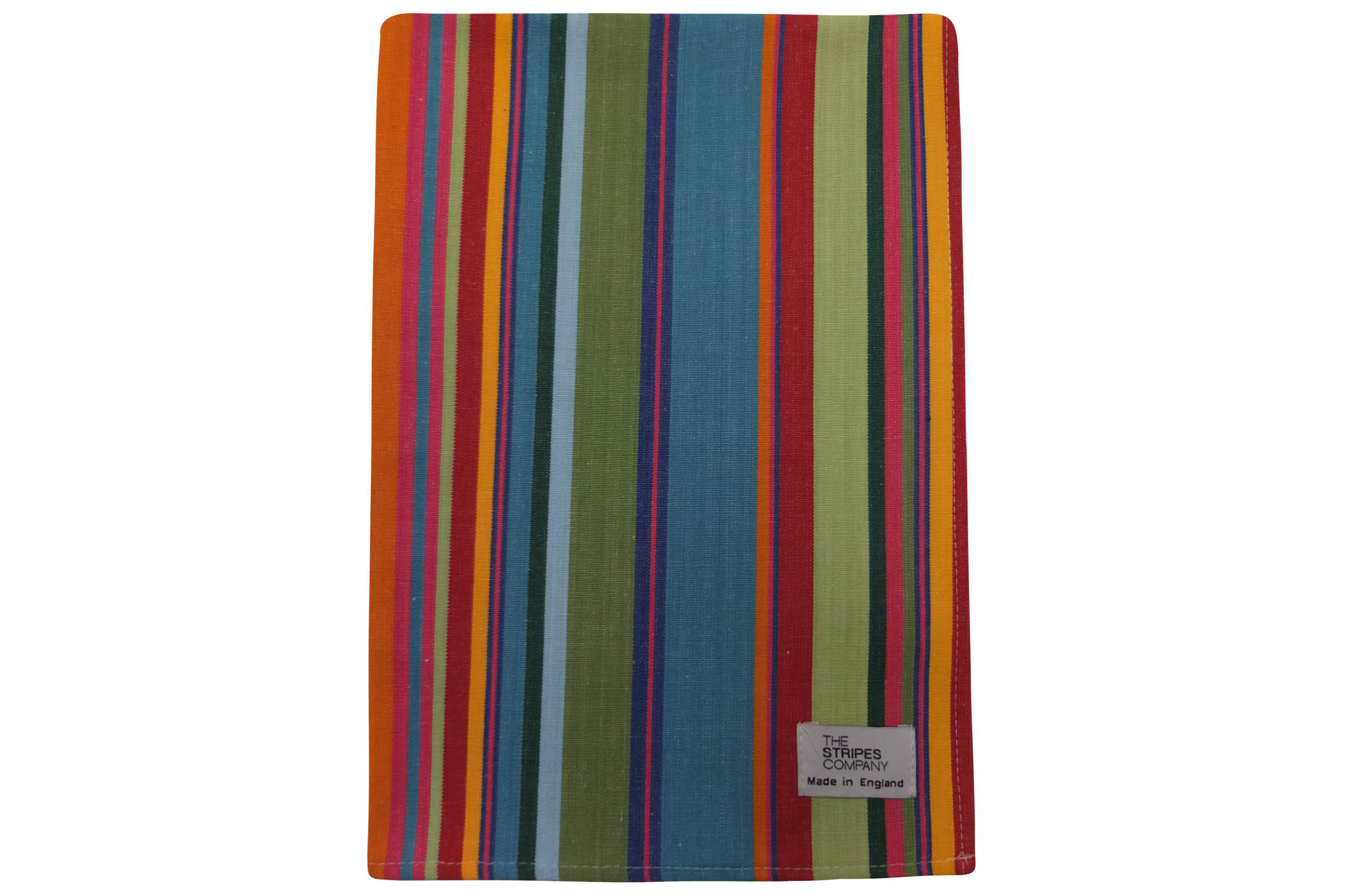 Bottle Green Stripe Tea Towels | Striped Teatowels