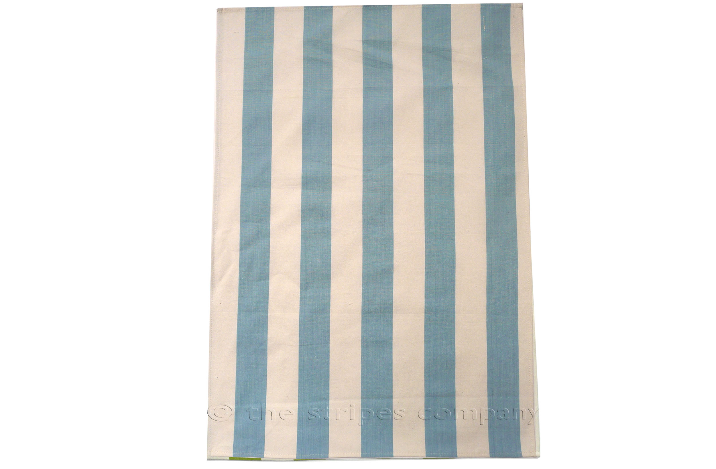 Pale Blue Stripe Tea Towels - Javelin Stripes