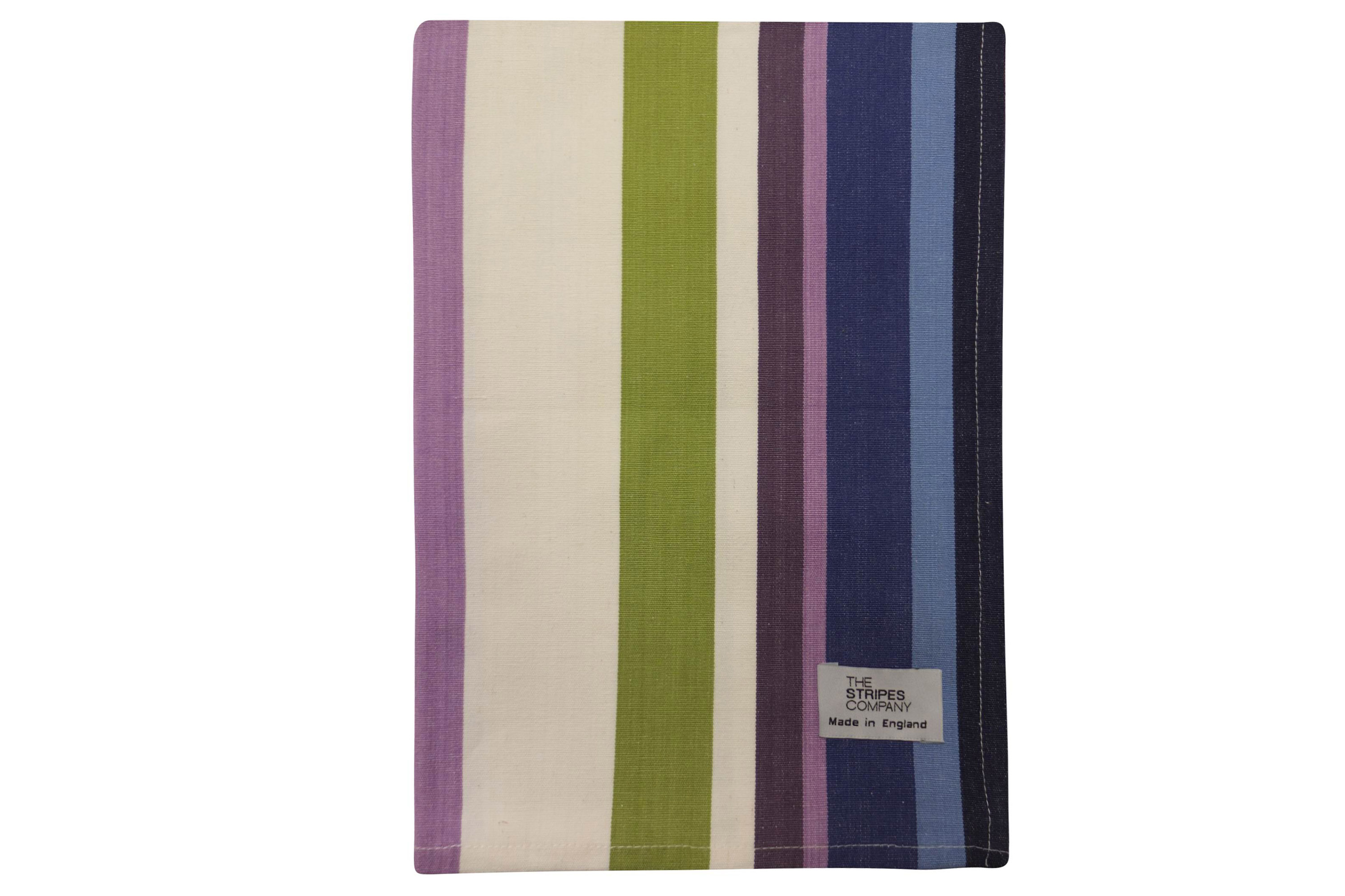 Green Stripe Tea Towels | Striped Teatowels Skiing Stripes