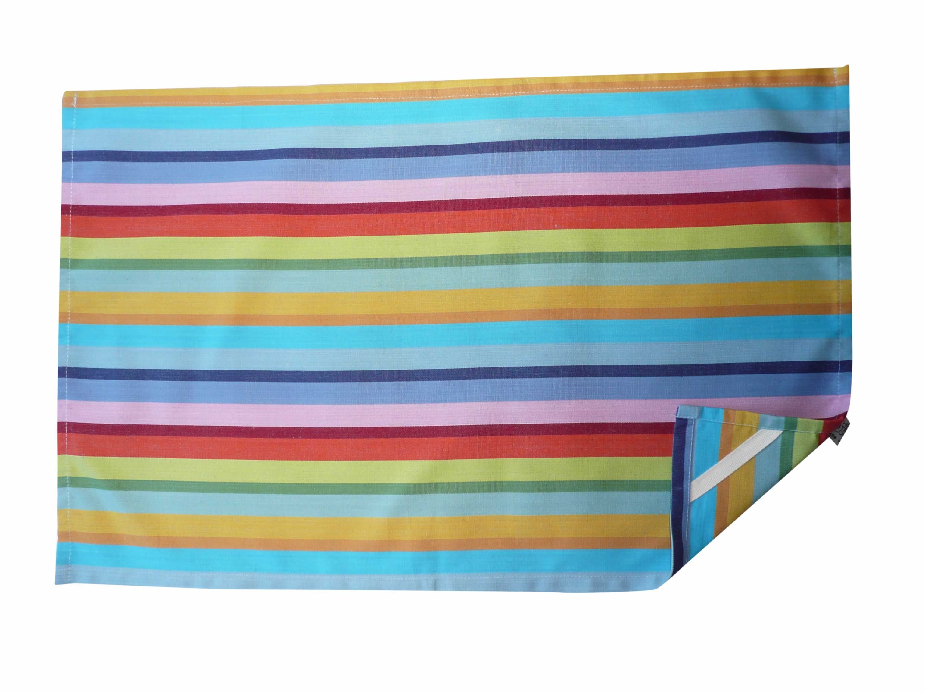 Rainbow Stripe Tea Towels | Striped Teatowels Tango Stripes
