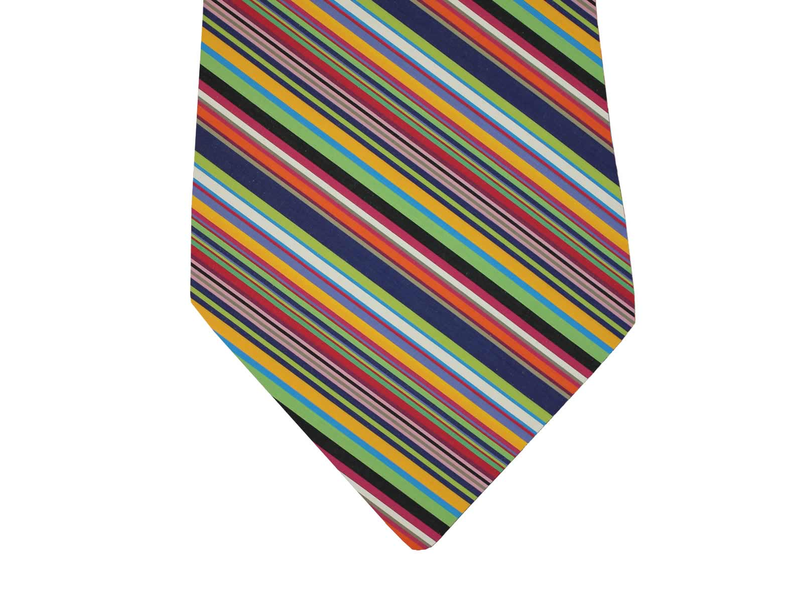 Multi-coloured Striped Ties from the Stripes Company