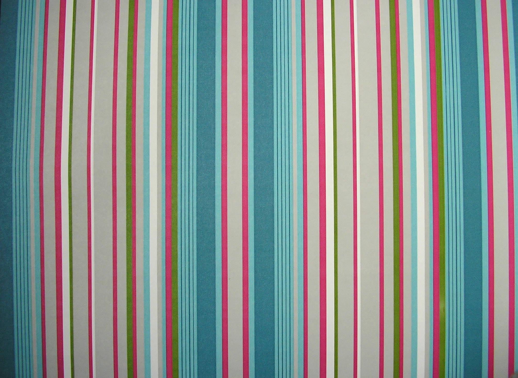 Blue Stripe Wallpaper: Petrol Blue Striped Wallpaper