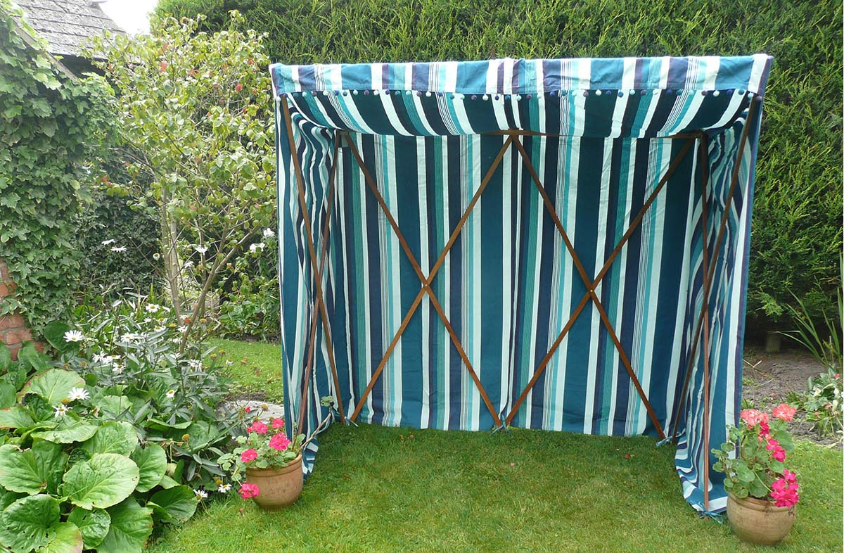 Sun Shelter COVER ONLY teal, aquamarine, french navy