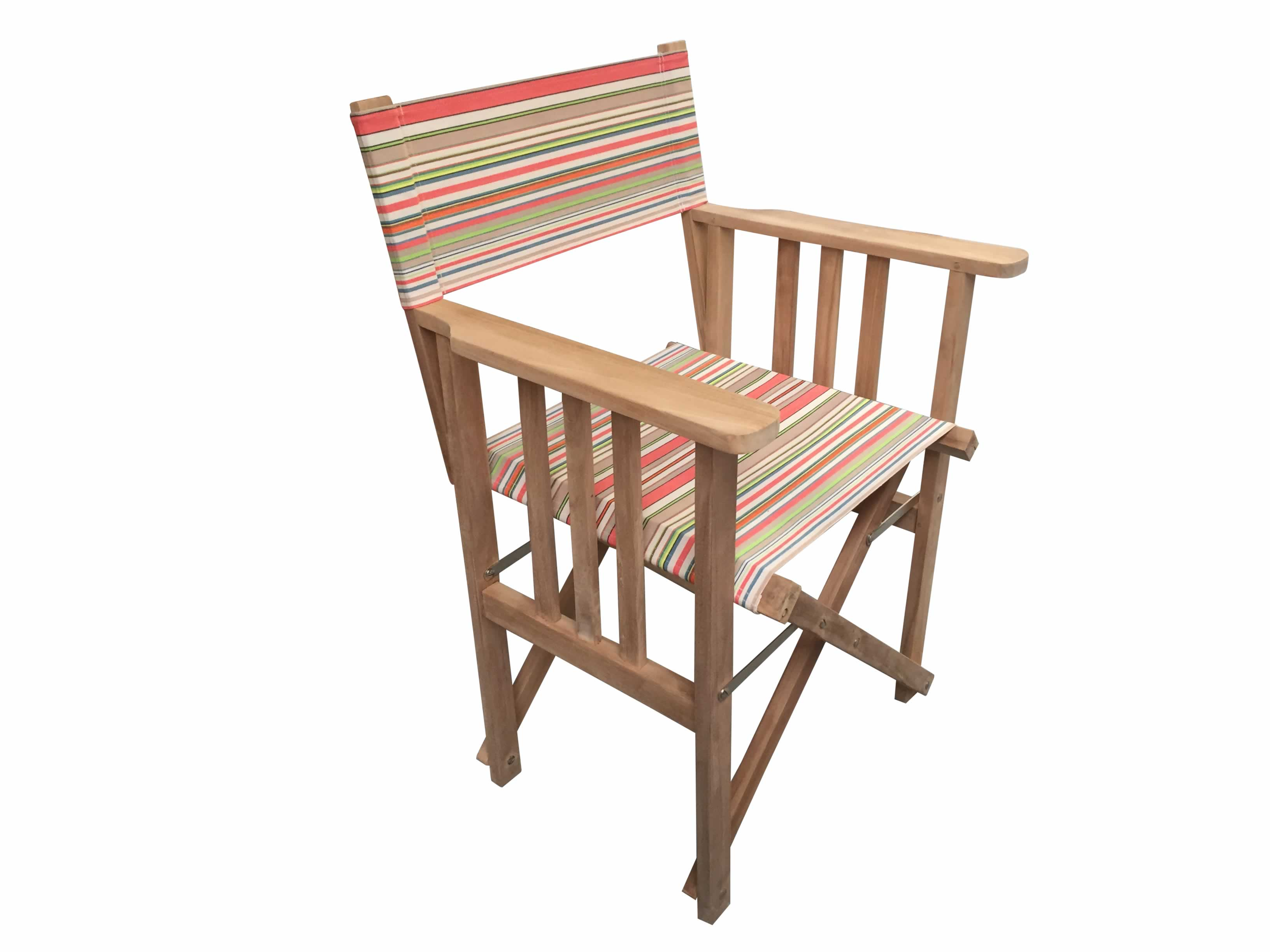 Groovy Vintage Look Directors Chair Slamball Stripe Home Interior And Landscaping Dextoversignezvosmurscom