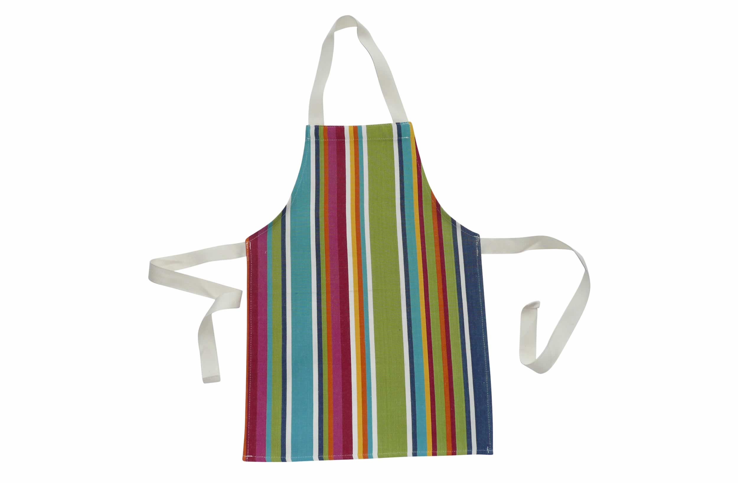 Colourful Toddler Aprons - Striped Aprons For Small Children