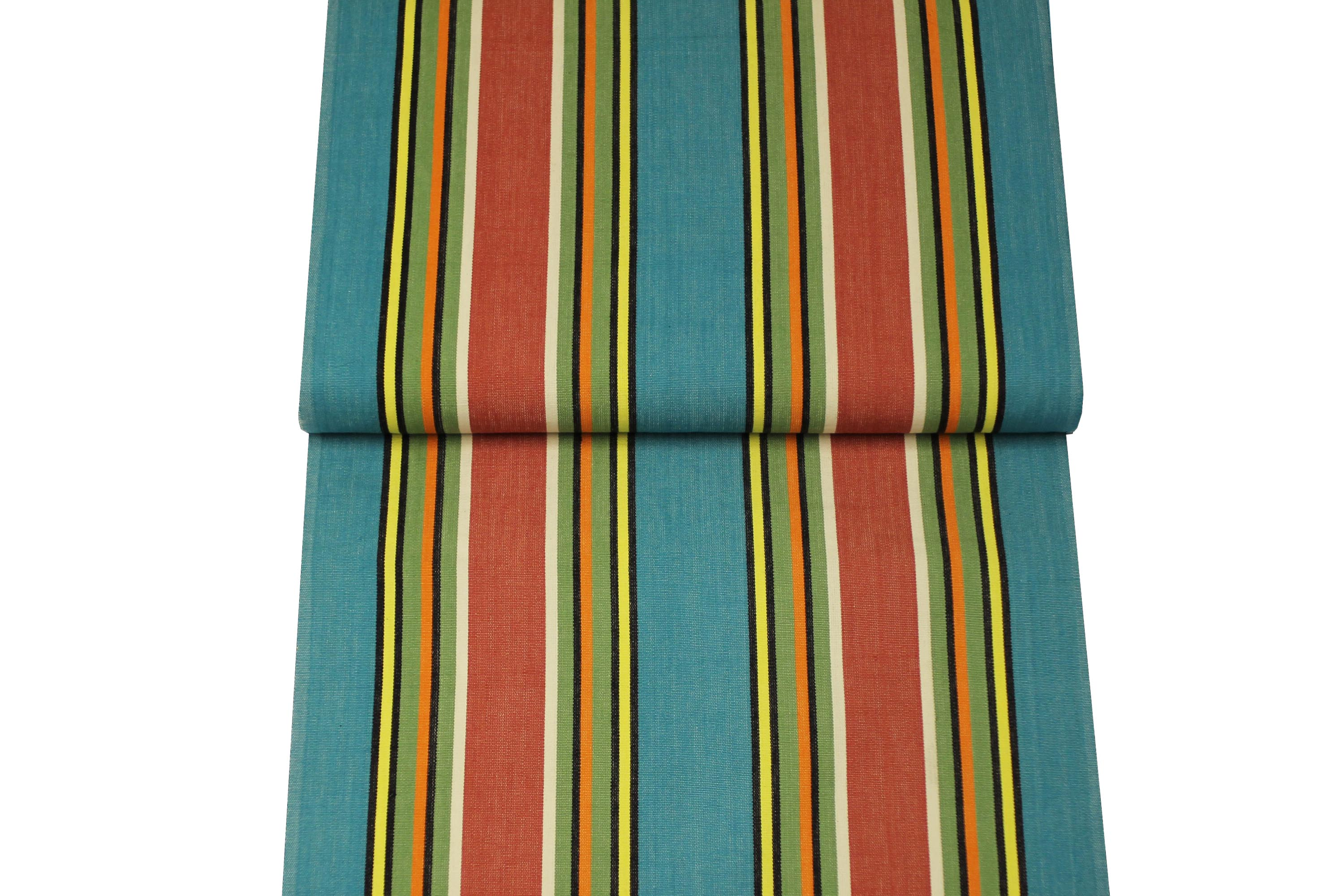 Turquoise Deckchair Canvas Vintage Archive Striped Fabrics | Vintage Deckchair Fabric Bagatelle Stripes