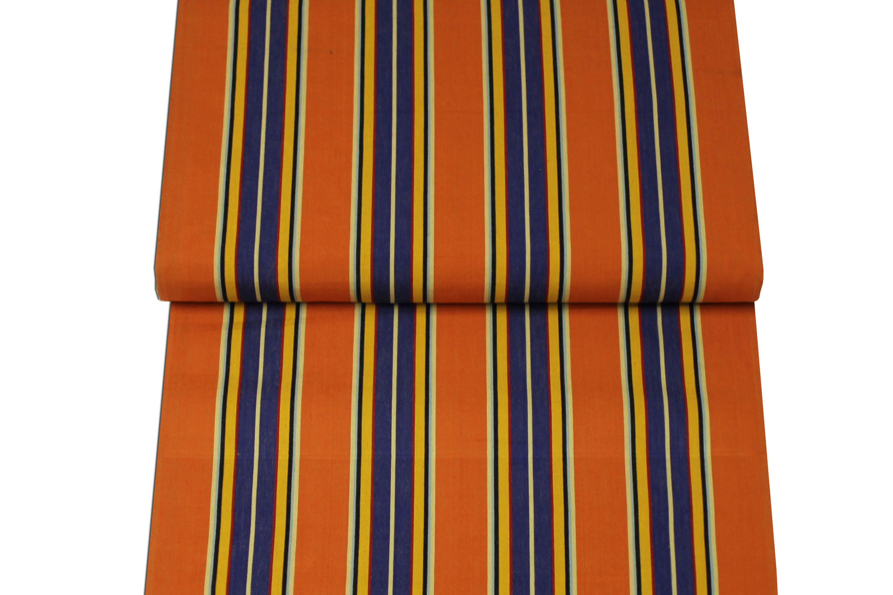 Rust Deckchair Canvas Vintage Archive Striped Fabrics | Vintage Deckchair Fabric Jazz Stripes